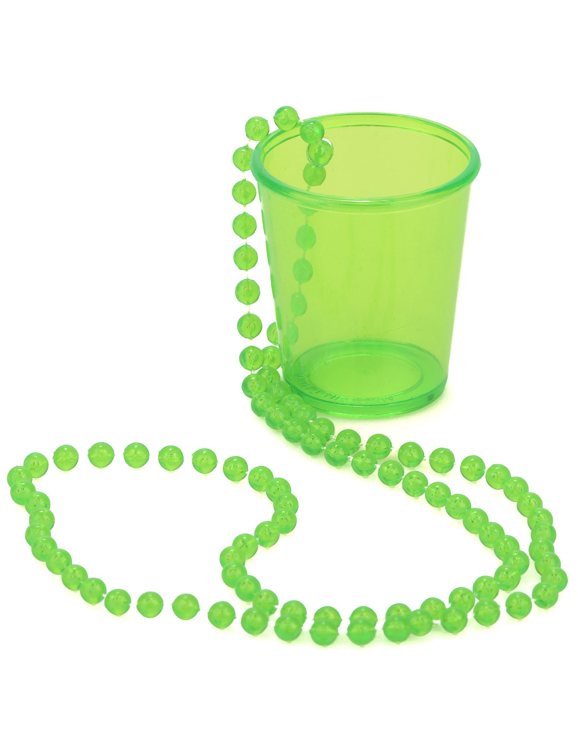 d53109e33fa2 Collar chupito verde San Patricio  Accesorios