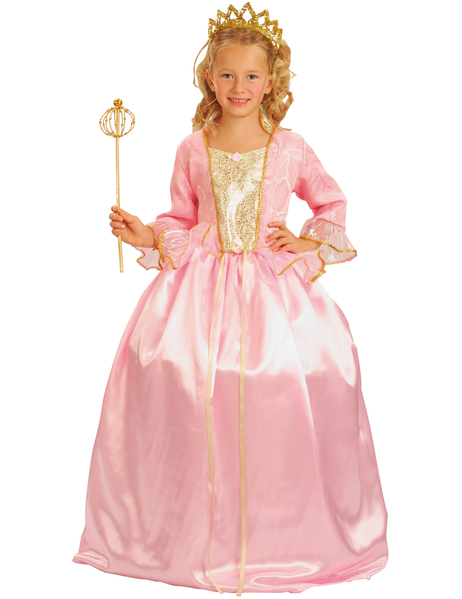 Disfraz de princesa rosa de lujo niña: Disfraces niños,y disfraces ...