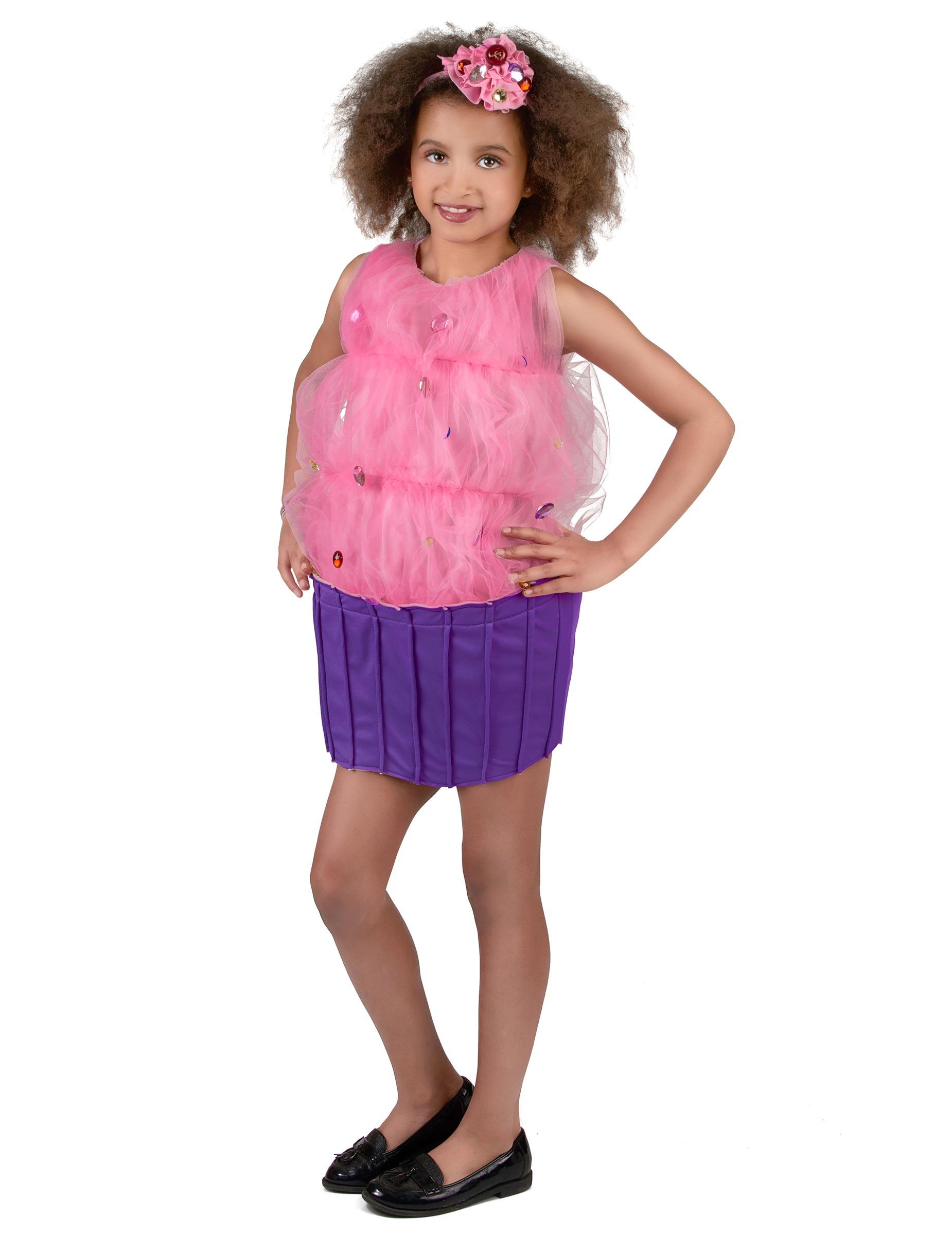 Traje de pastel cupcake niña: Disfraces niños,y disfraces originales ...