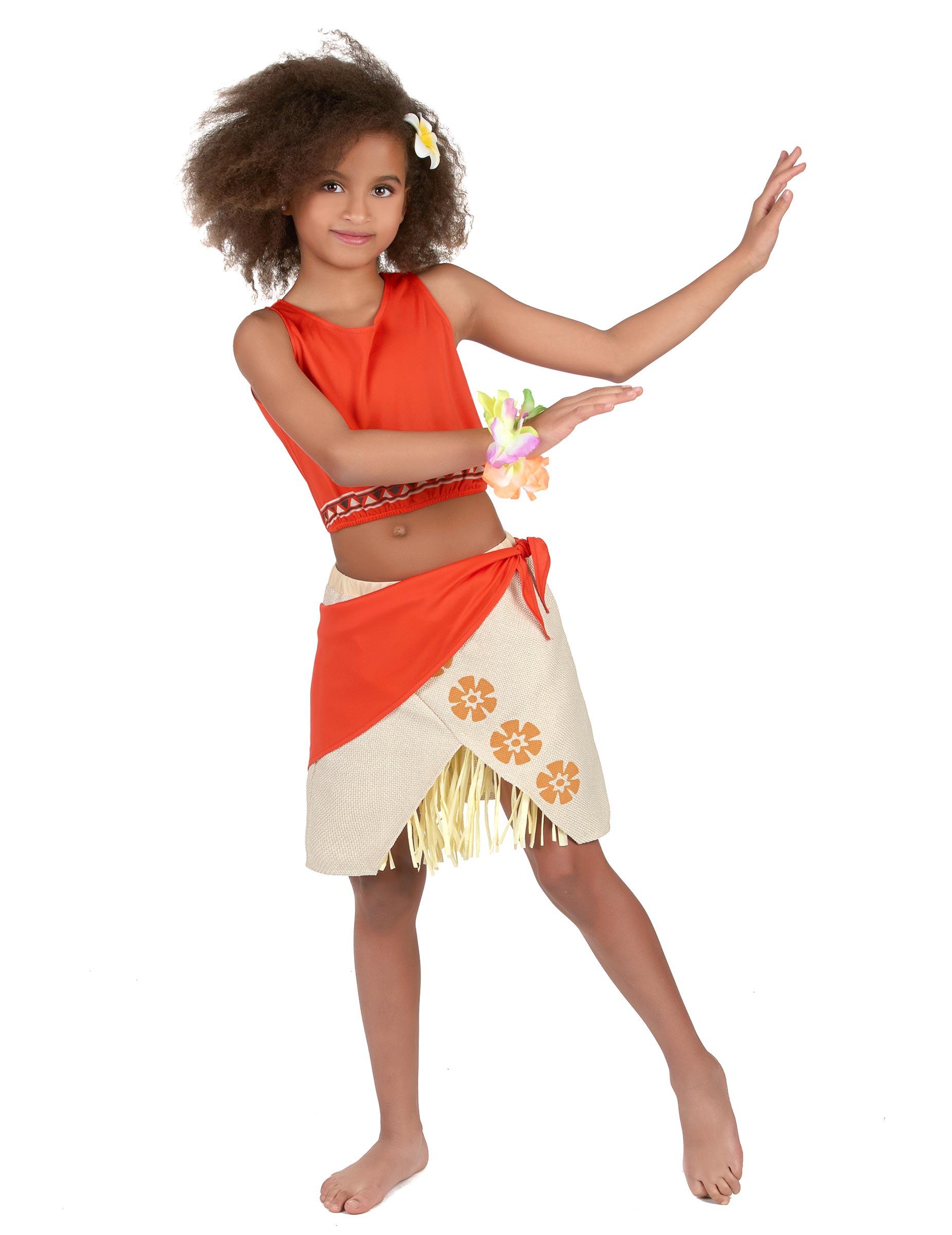 13c109f1d Disfraz hawaiana niña  Disfraces niños