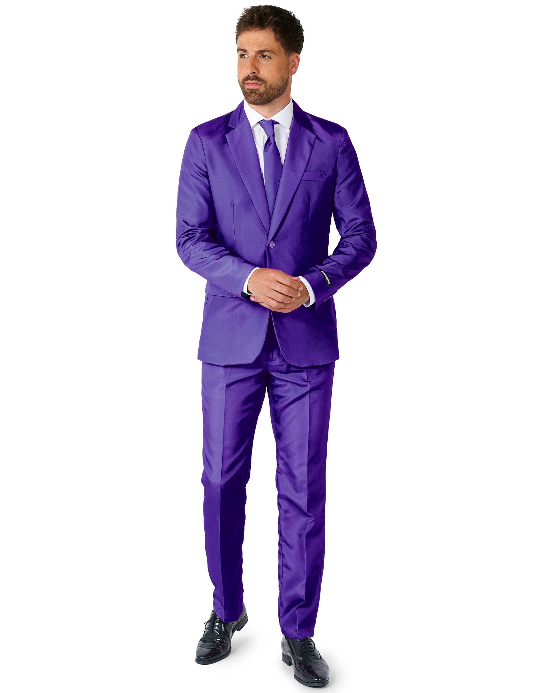 Traje Mr Solid Violeta Suitmeister™ Hombre: Disfraces adultos,y ...