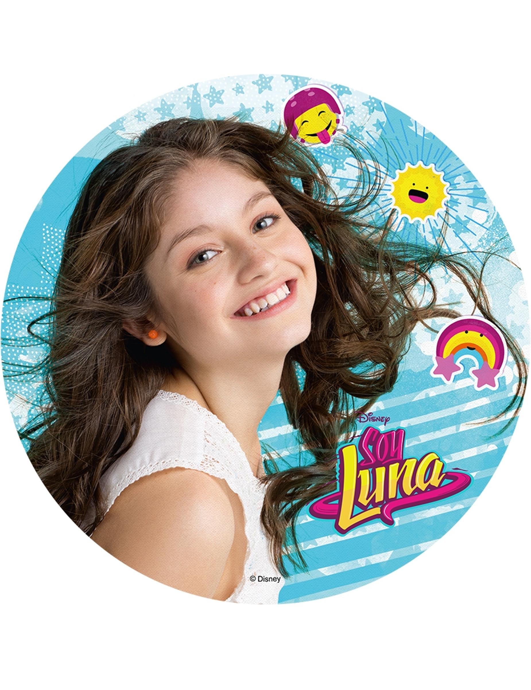 Disco Oblea Soy Luna Aleatorio 20 Cm