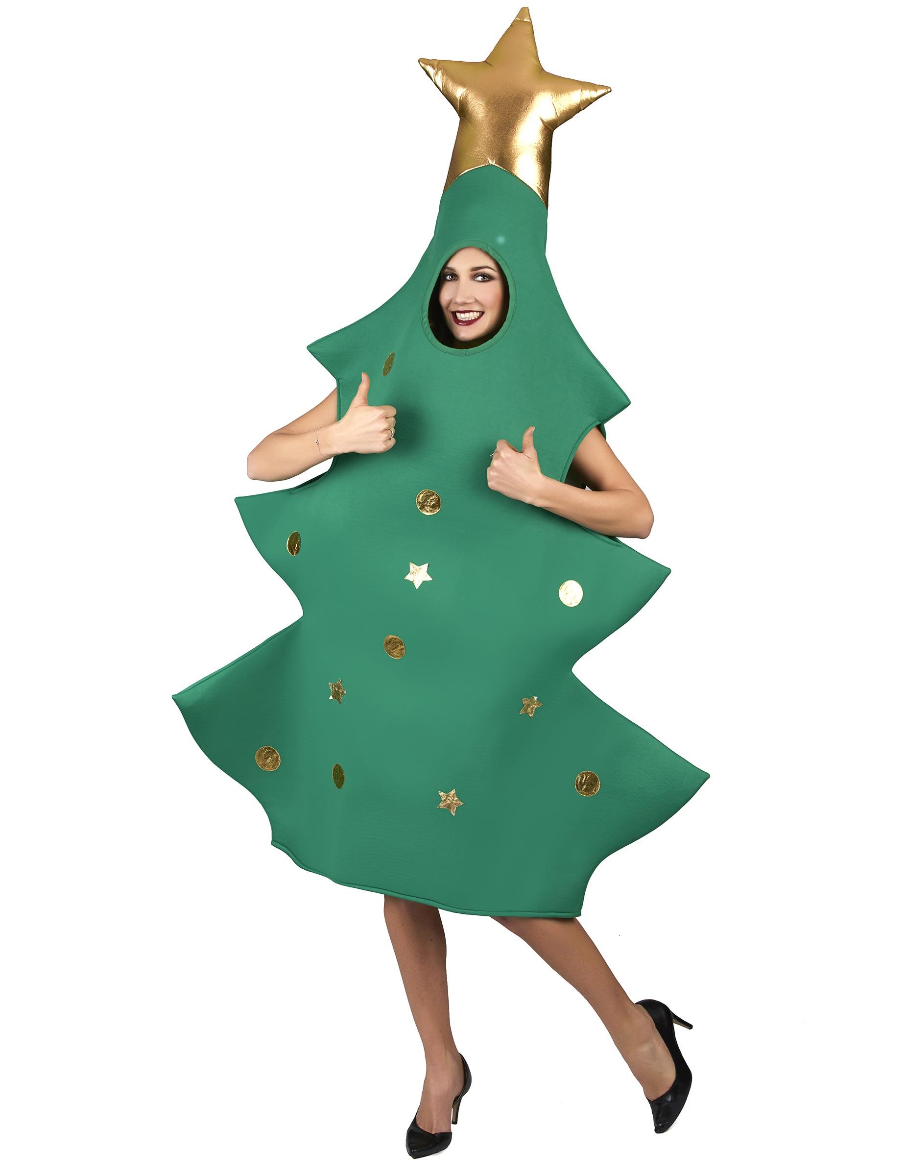 Disfraz rbol de Navidad 3D adulto Disfraces adultosy disfraces