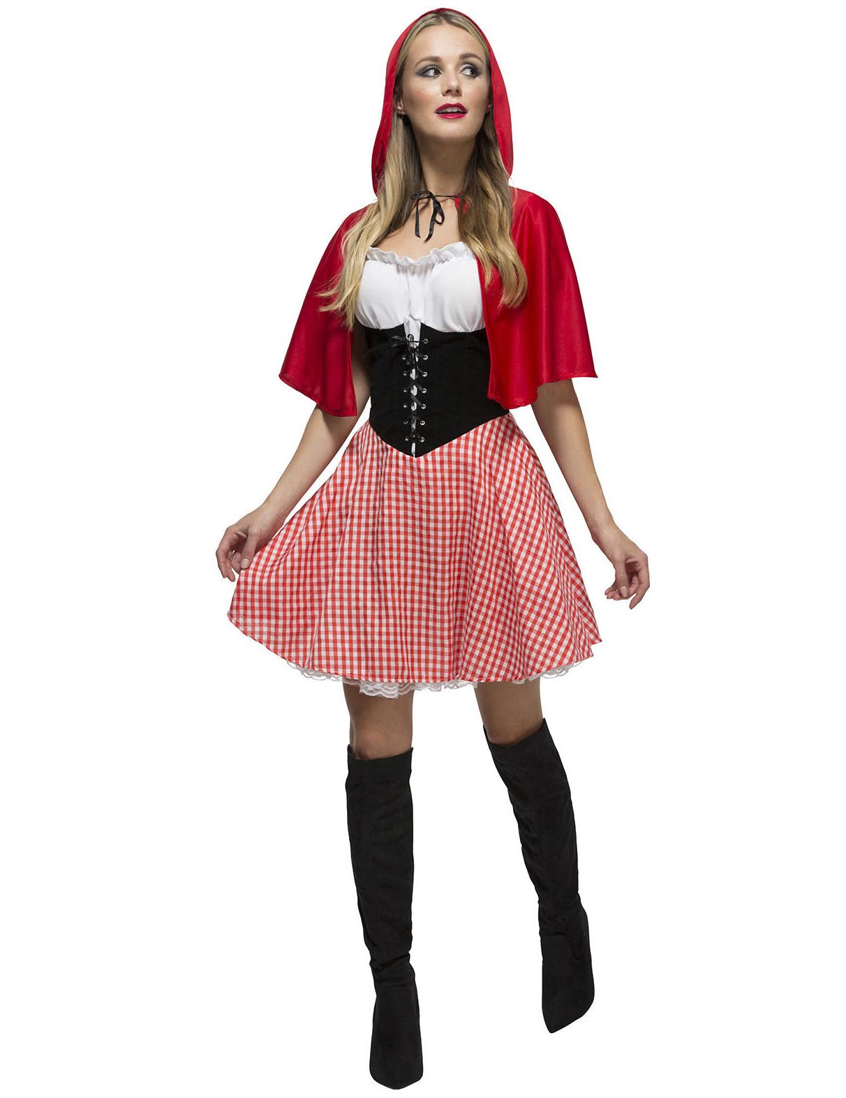 Disfraz de caperucita del bosque sexy mujer: Disfraces adultos,y ...