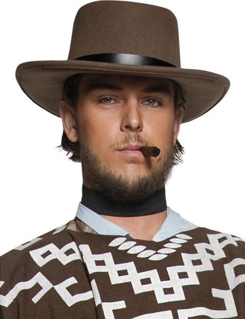 d8cb90f444bf0 Sombrero sheriff del Oeste marrón hombre  Sombreros
