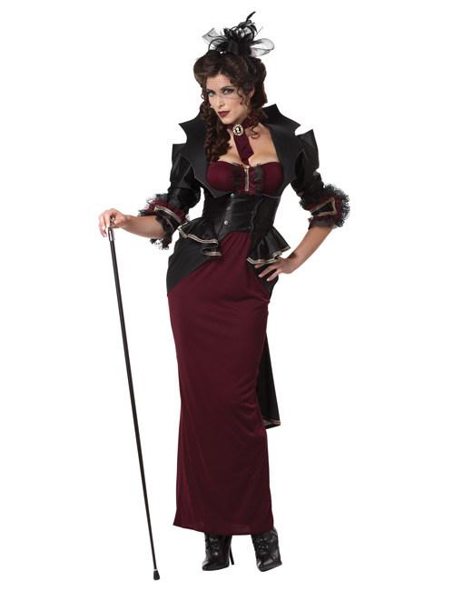 disfraz vampiresa gtica halloween mujer