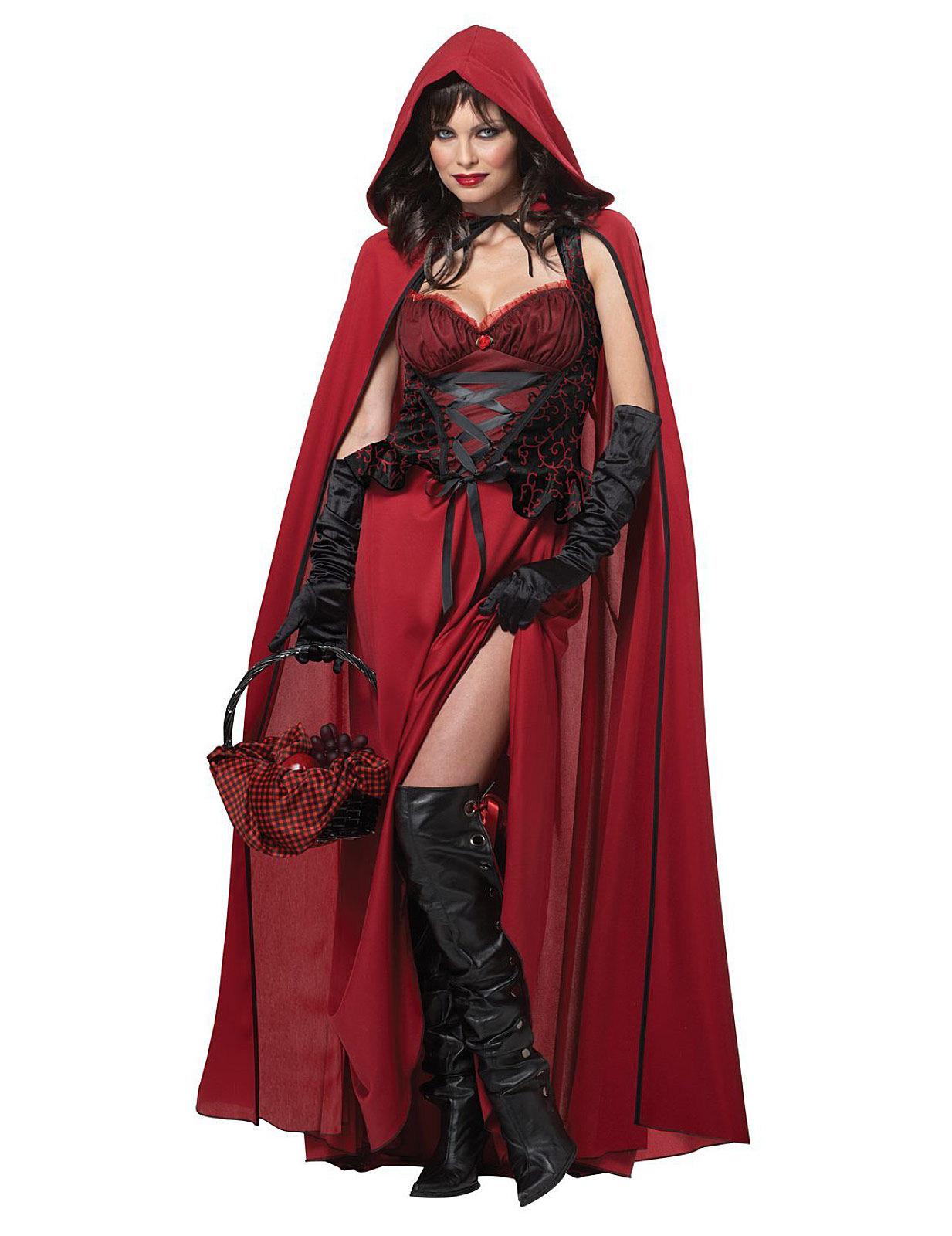 Caperucita Roja Halloween.Disfraz Caperucita Roja Malefica Halloween