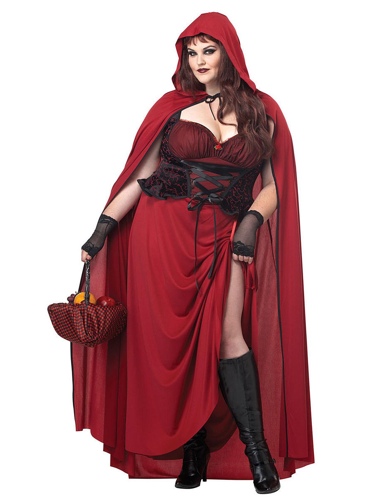 Disfraz de Halloween caperucita gótica Mujer  Disfraces adultos fcfede3b4f51