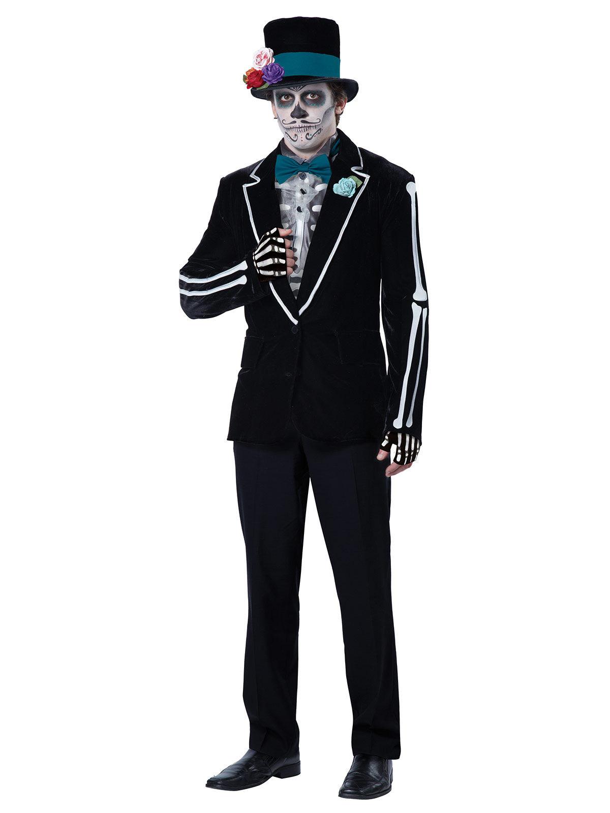 Disfraz traje mexicano Día de los muertos hombre  Disfraces adultos ... 7aa170bdd00