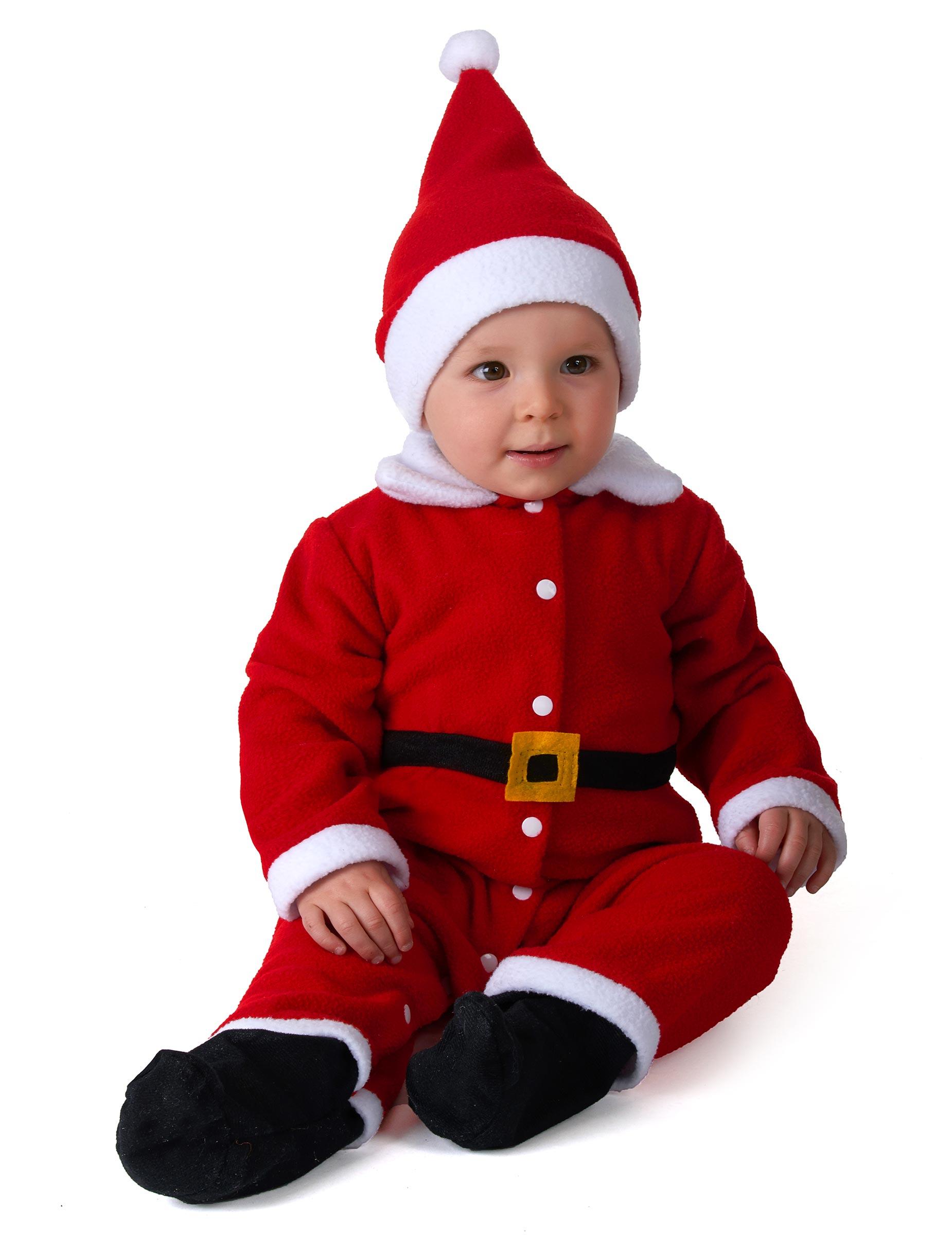 Disfraz de pap noel beb disfraces ni os y disfraces - Disfraz papa noel nino ...