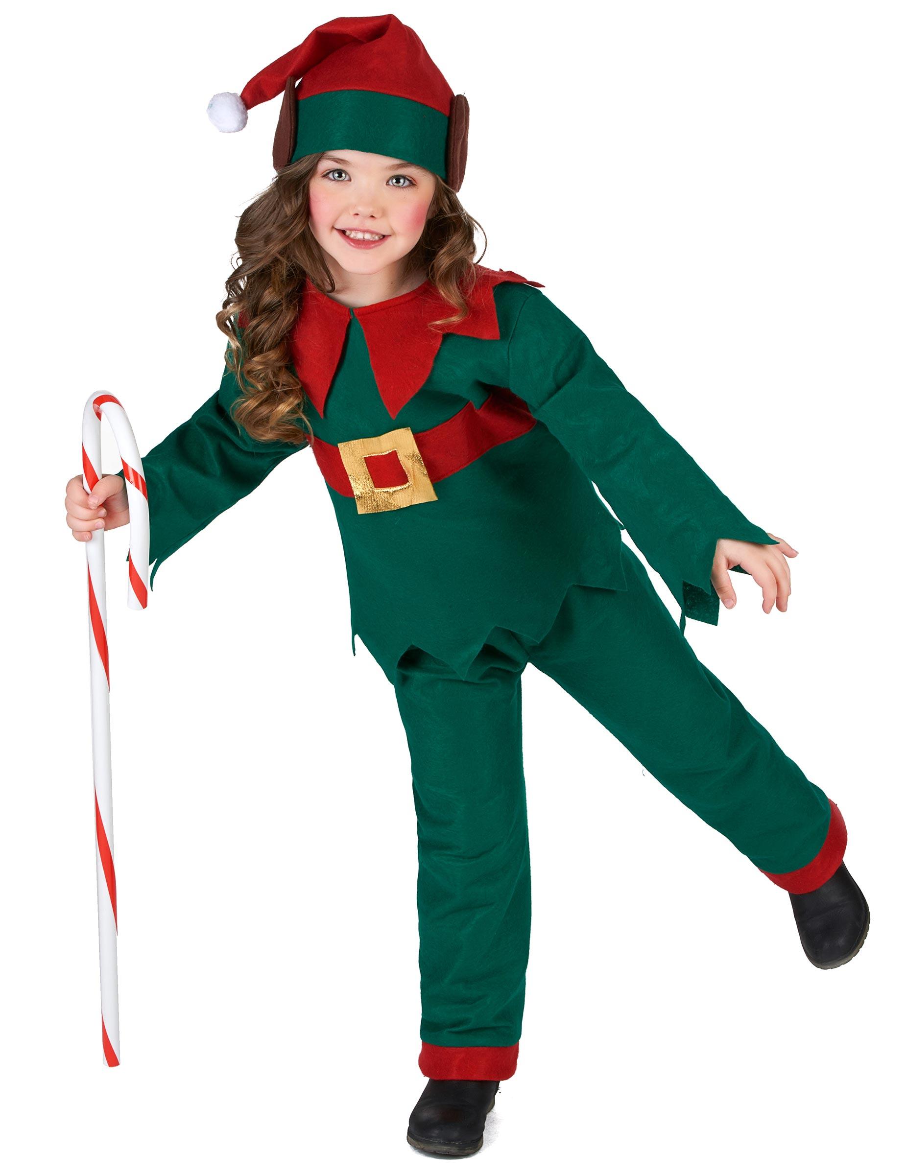 Disfraz de elfo navidad ni o disfraces ni os y disfraces - Disfraz navideno nina ...