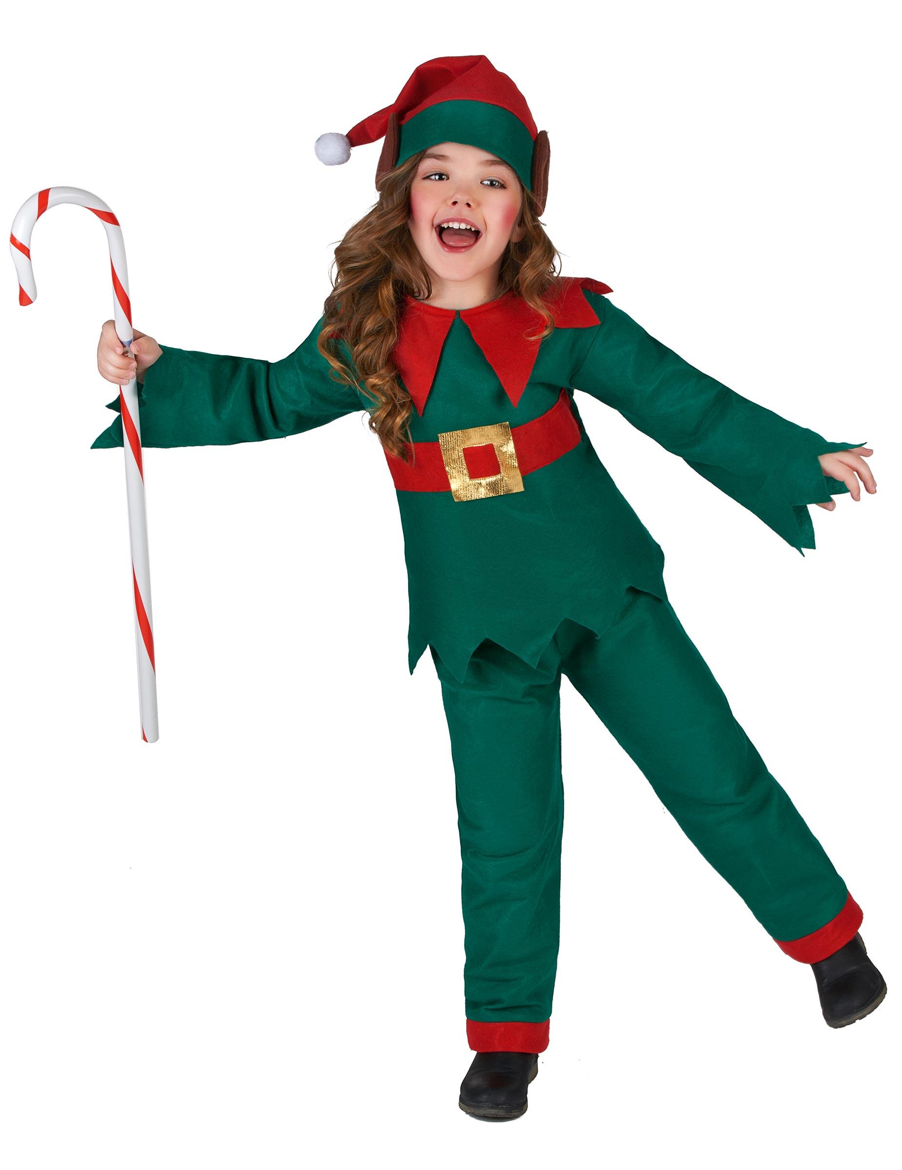 Disfraz de elfo navidad ni o disfraces ni os y disfraces - Traje de duende para nino ...
