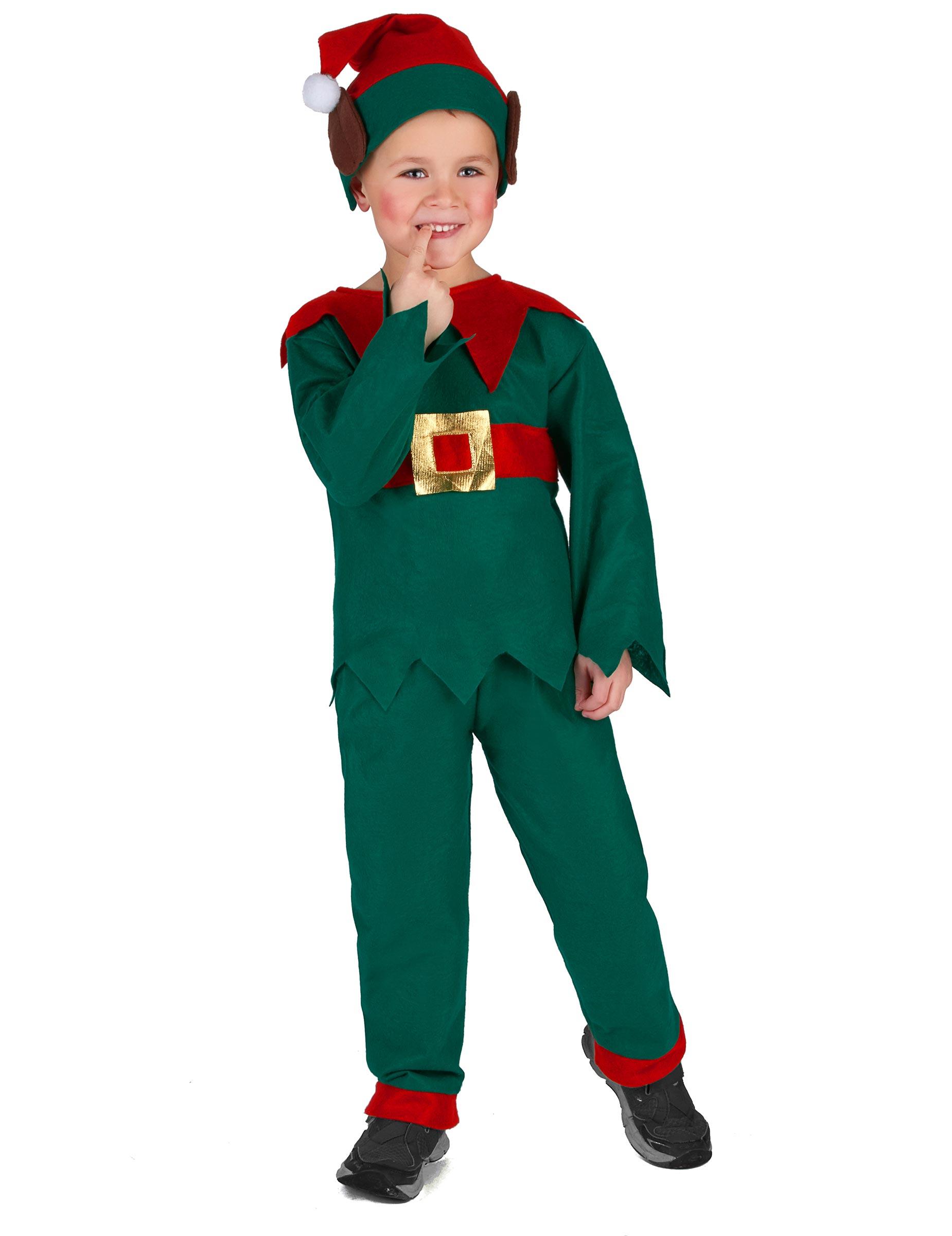 Disfraz de elfo navidad ni o disfraces ni os y disfraces - Disfraz de navidad ...