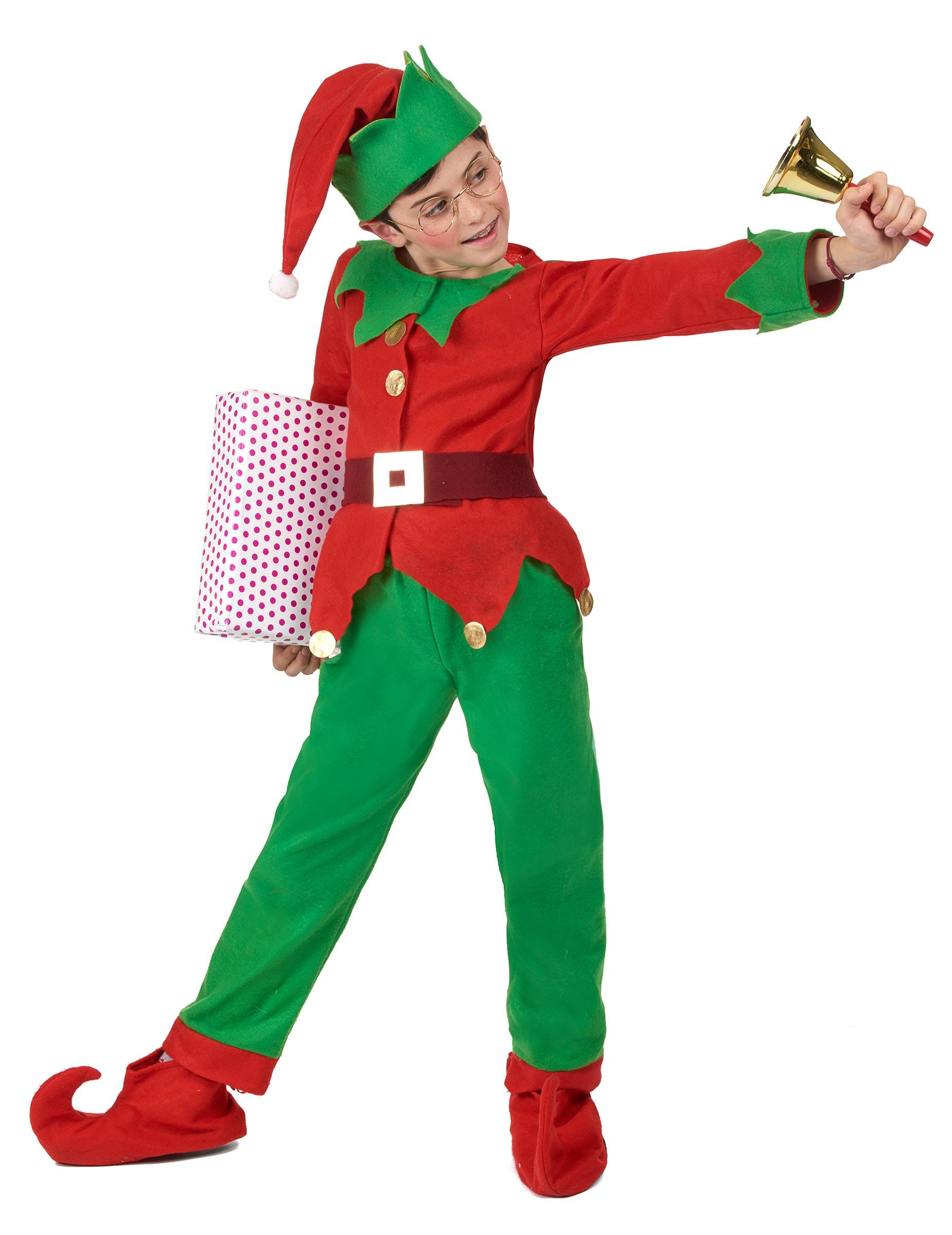 Disfraz completo elfo de navidad ni o disfraces ni os y - Disfraces para navidad ninos ...