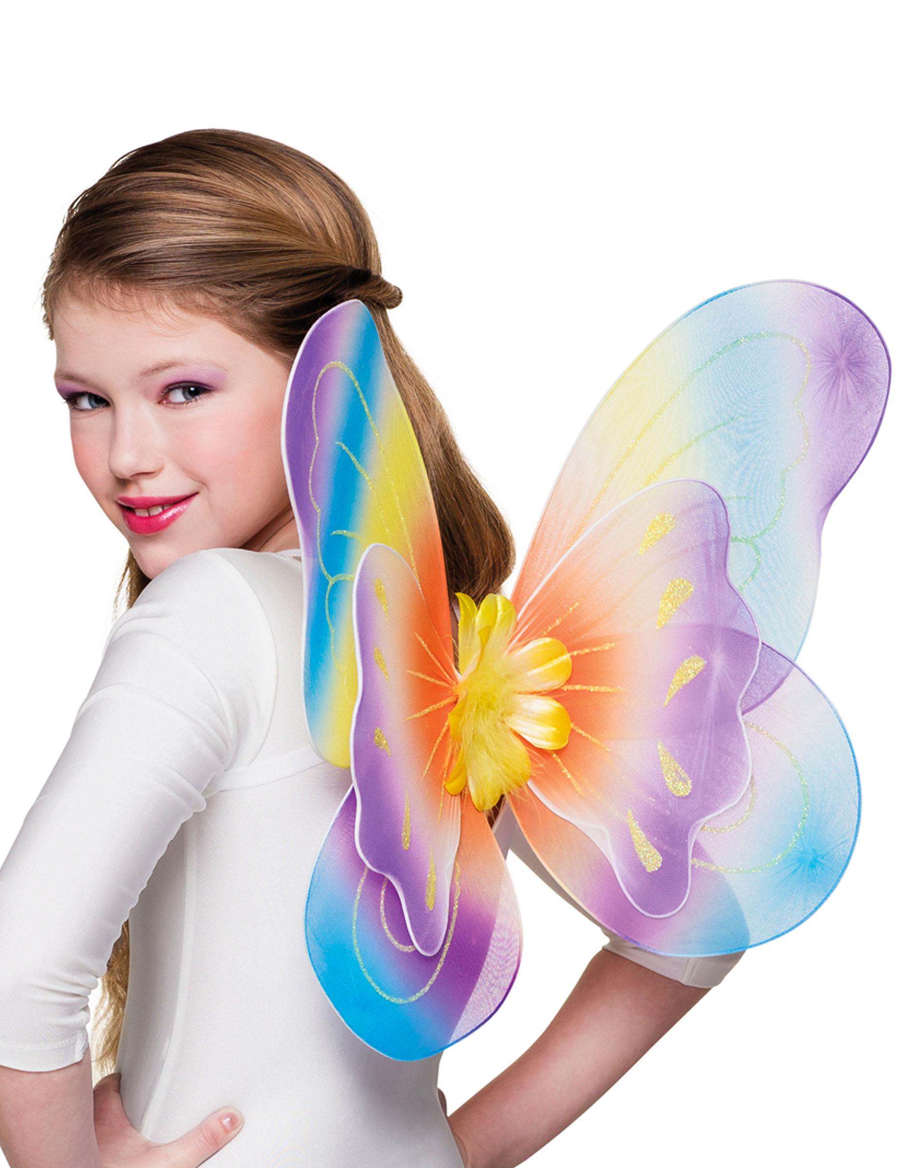 alas mariposa multicolor x cm nia