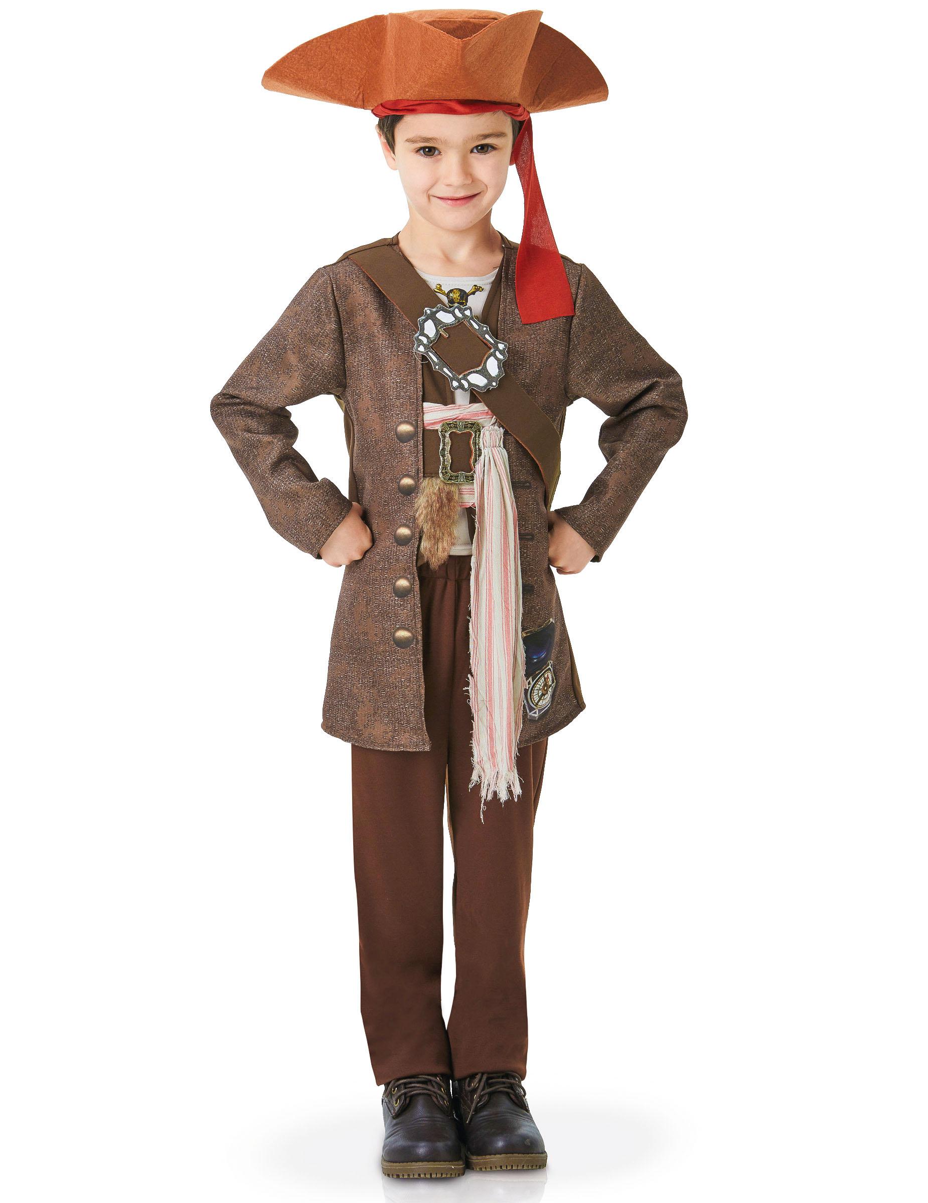 69f924a718513 Disfraz Jack Sparrow™ Piratas del Caribe™ lujo niño  Disfraces niños ...
