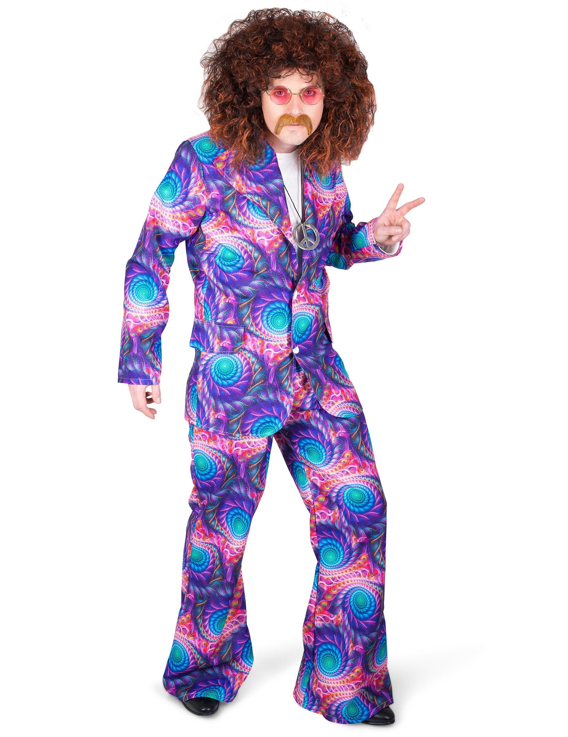 Disfraz disco psicodélico hombre: Disfraces adultos,y disfraces ...