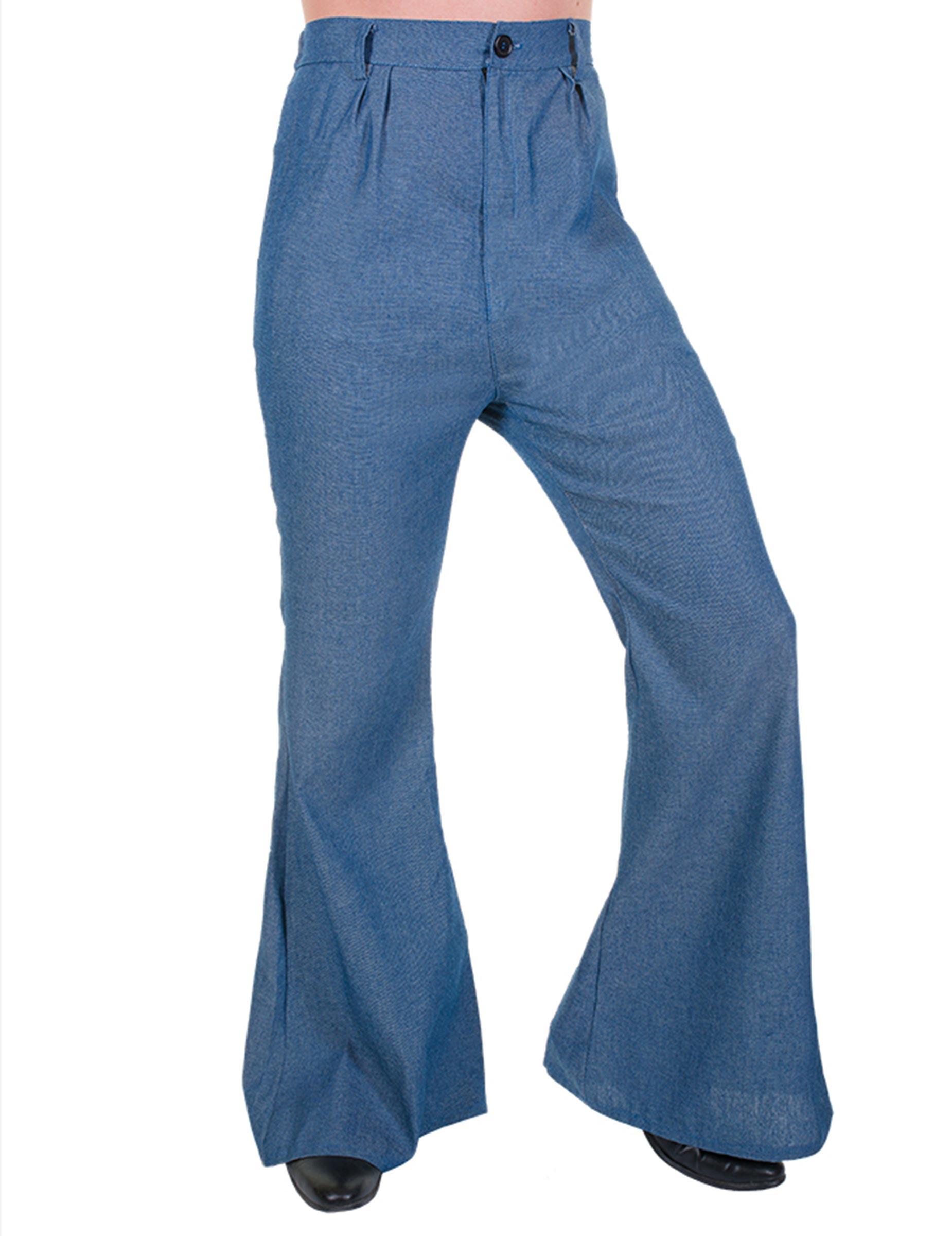 disfruta del precio de descuento linda siempre popular Pantalón de campana disco imitación vaquero Hombre