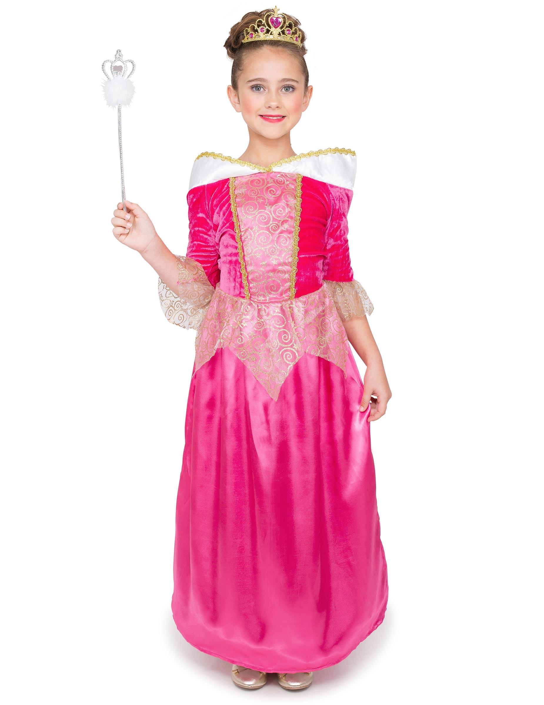 Disfraz princesa encantada rosa niña: Disfraces niños,y disfraces ...