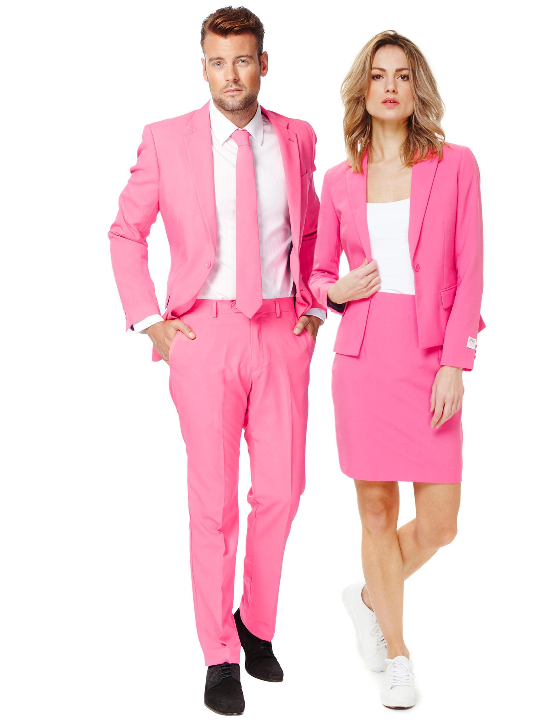 Traje de pareja opposuits™ Rosa: Disfraces parejas,y disfraces ...