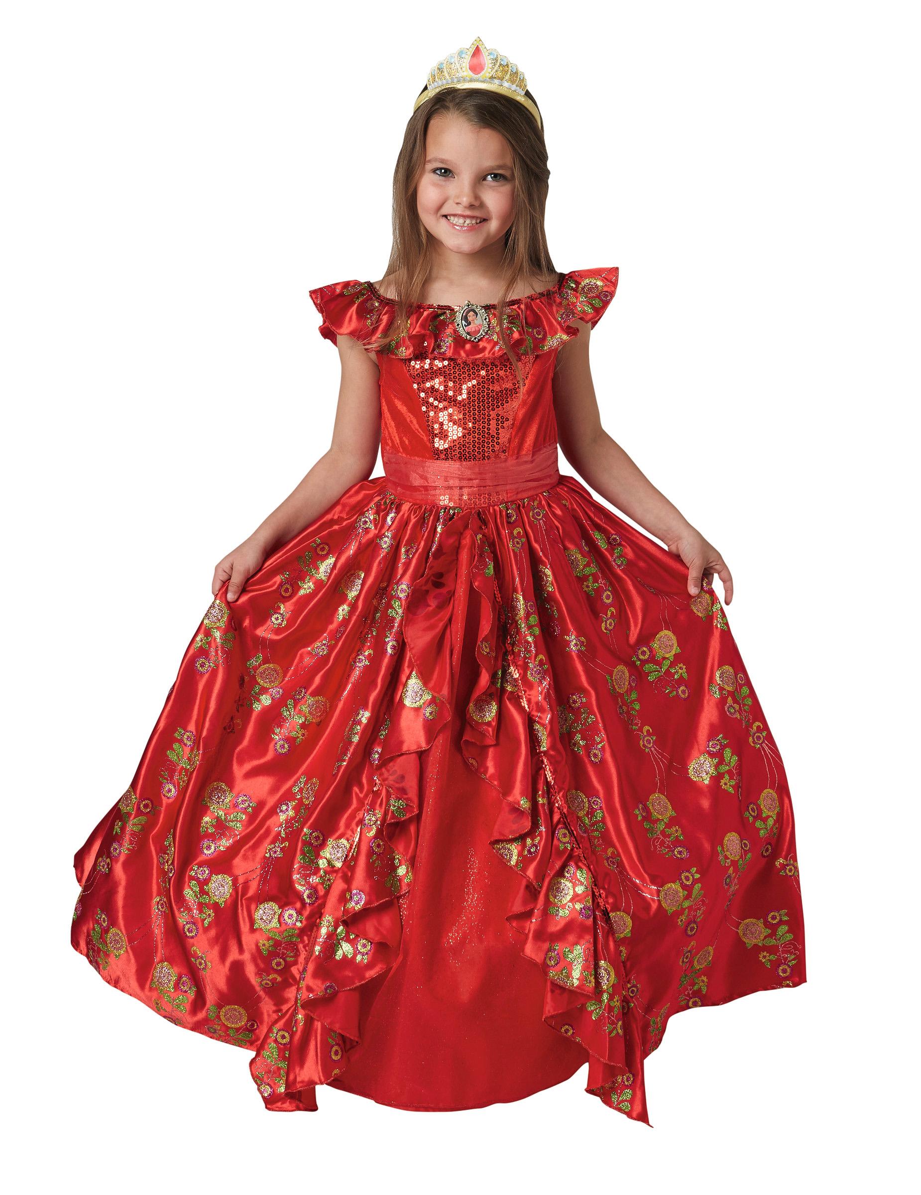 Disfraz Vestido De Gala Elena De ávalor Niña