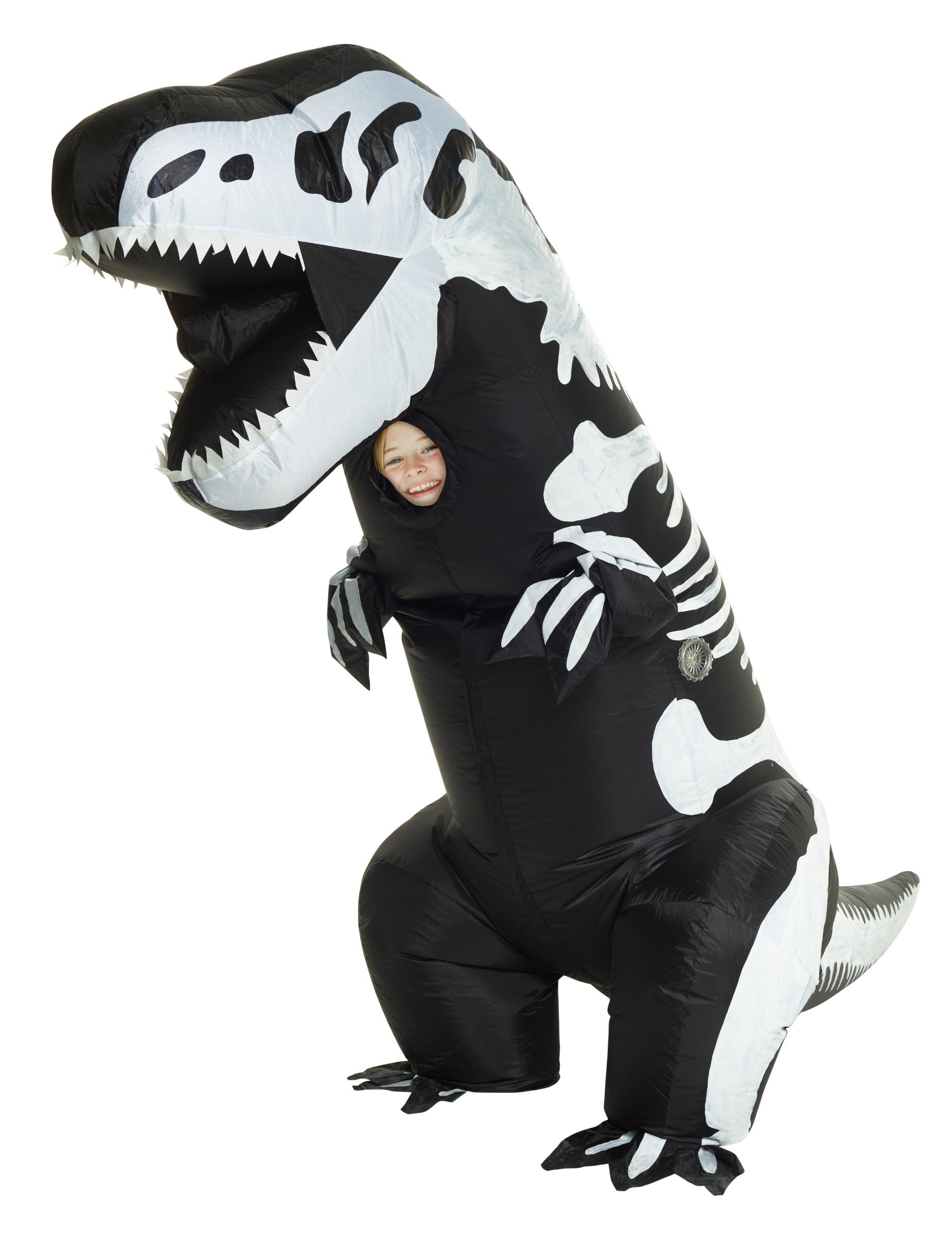 Disfraz hinchable esqueleto T-rex niño Morphsuits™  Disfraces niños ... 725728a27c5