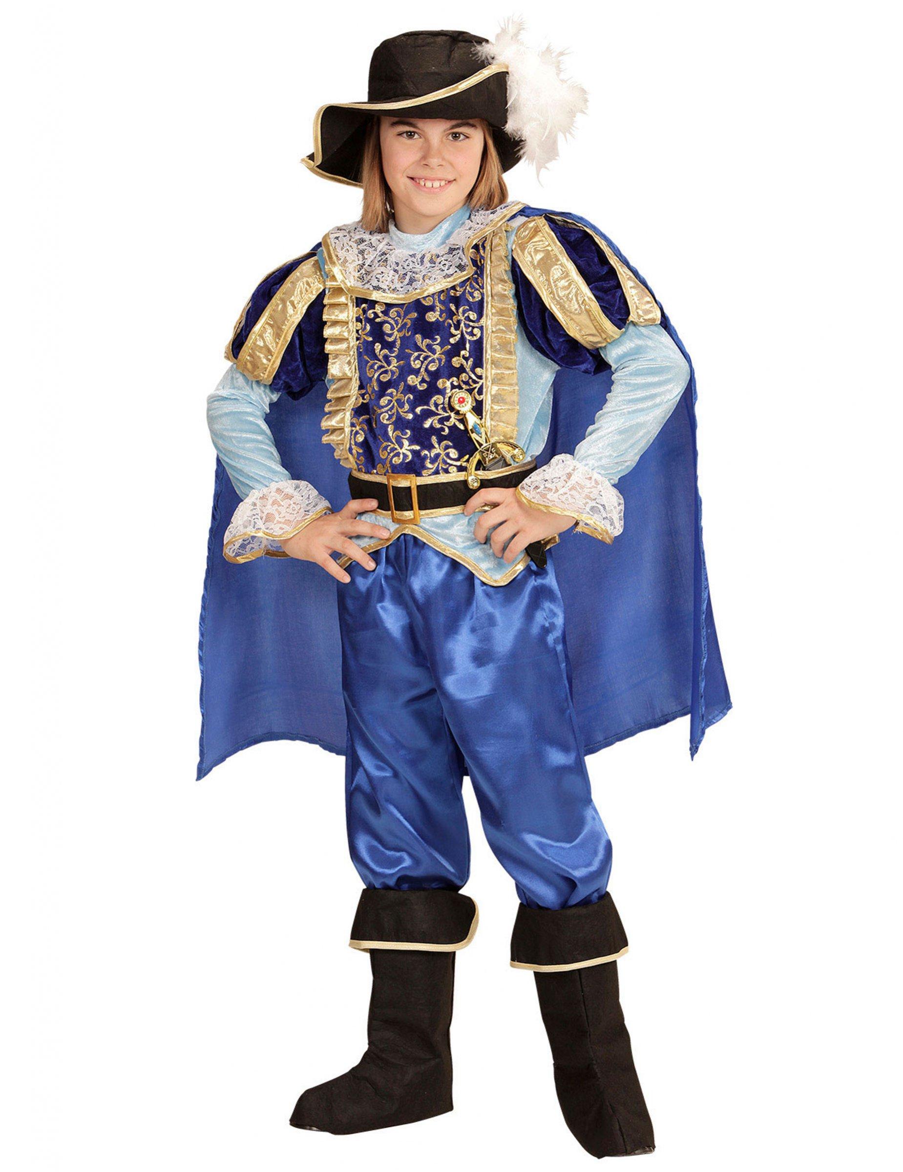 df6349d0c Disfraz príncipe encantador real niño
