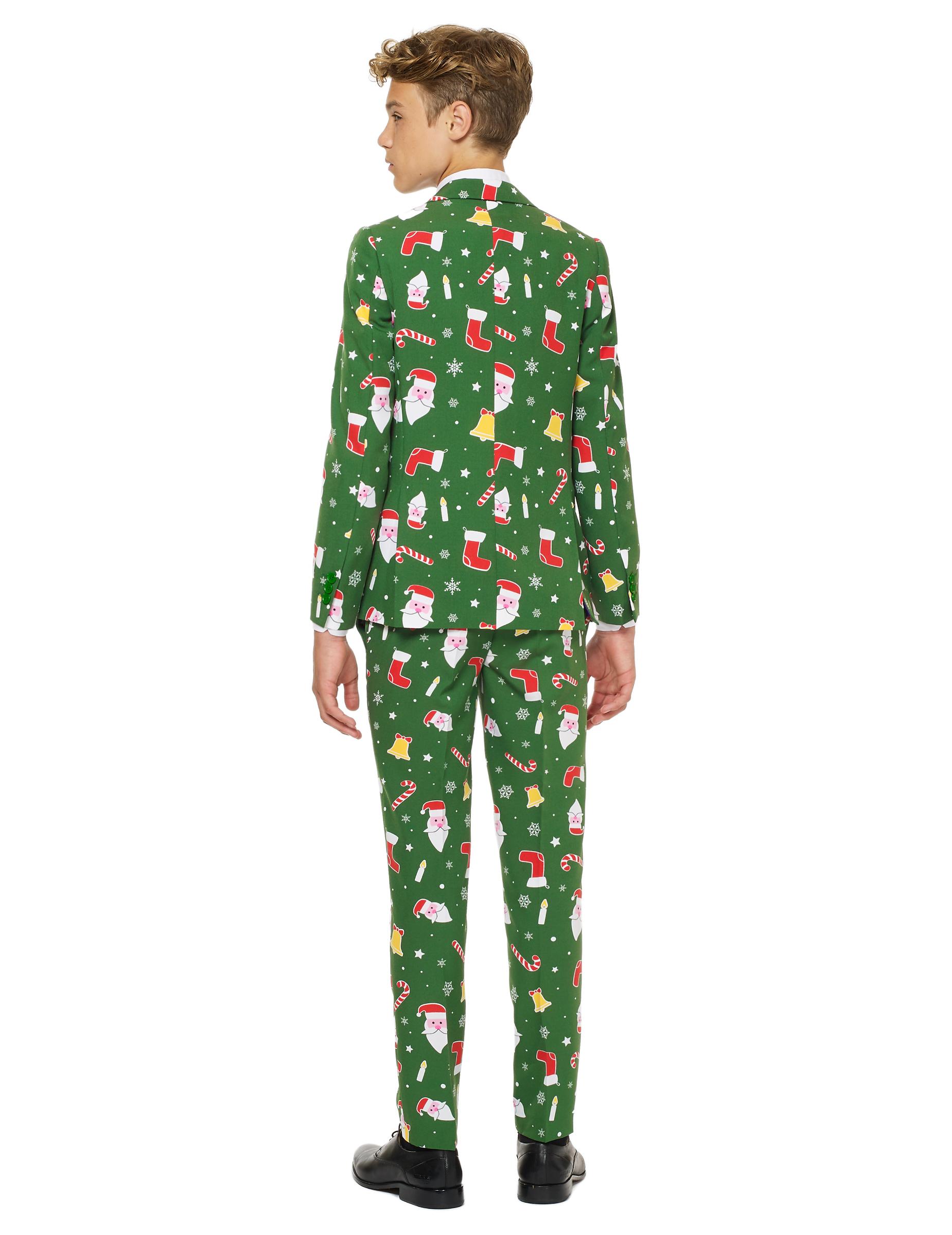 cdd29dab0 Traje Mr. Santaboss adolescente de Opposuits™ Navidad  Disfraces ...