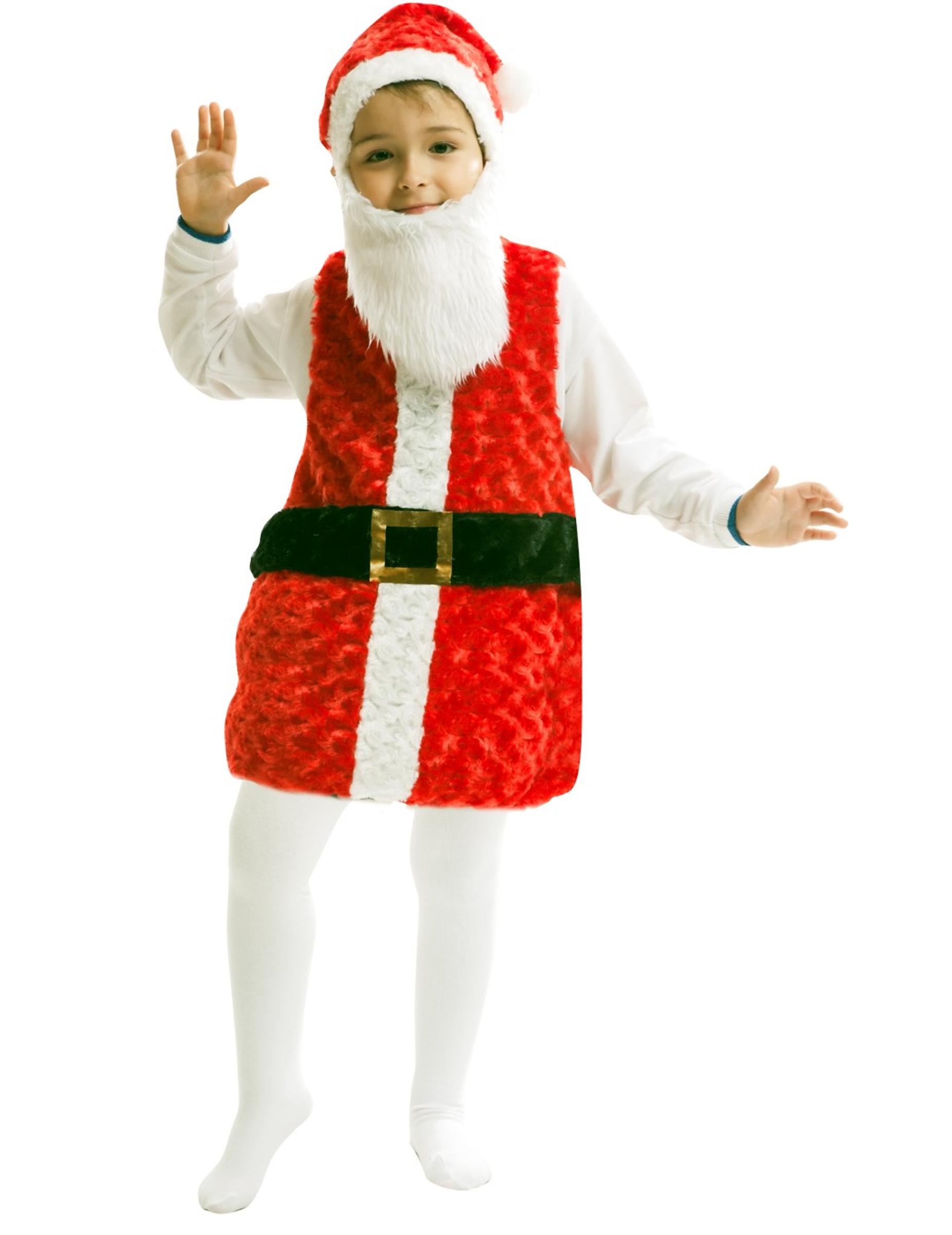 Disfraz de pap noel ni o disfraces ni os y disfraces - Disfraz papa noel nino ...