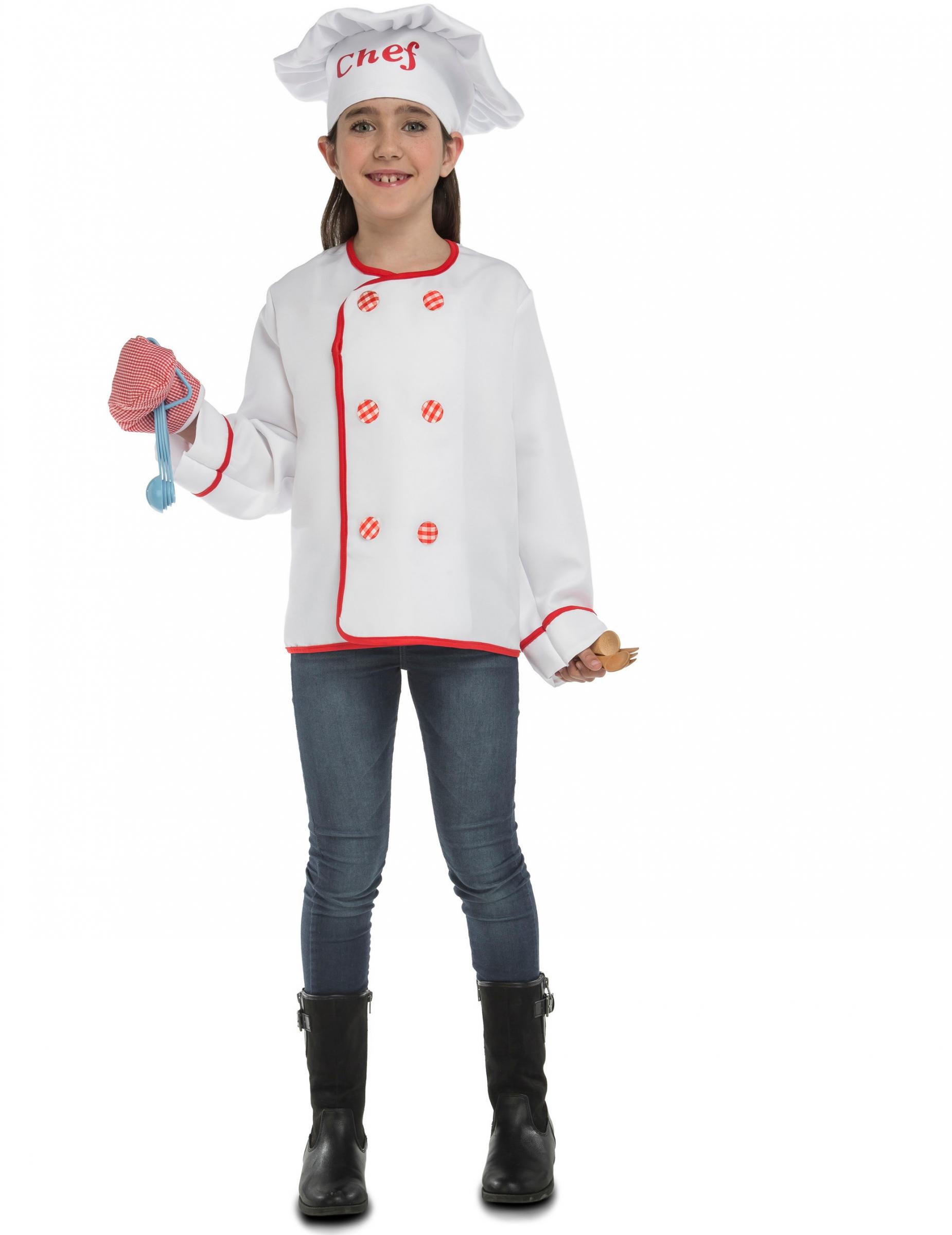disfraz chef de cocina con accesorios para ni o disfraces