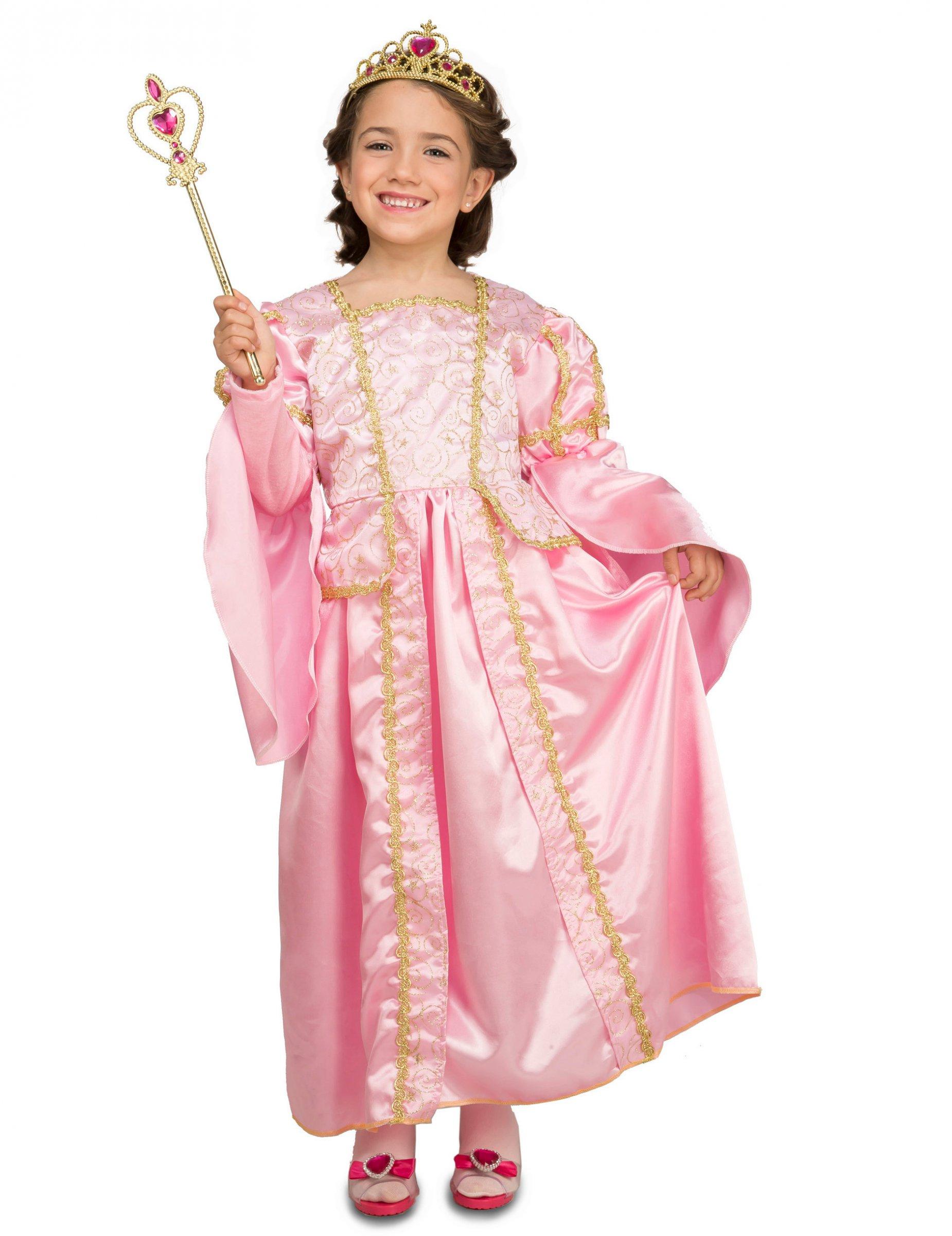 Disfraz princesa rosa con accesorios niña: Disfraces niños,y ...