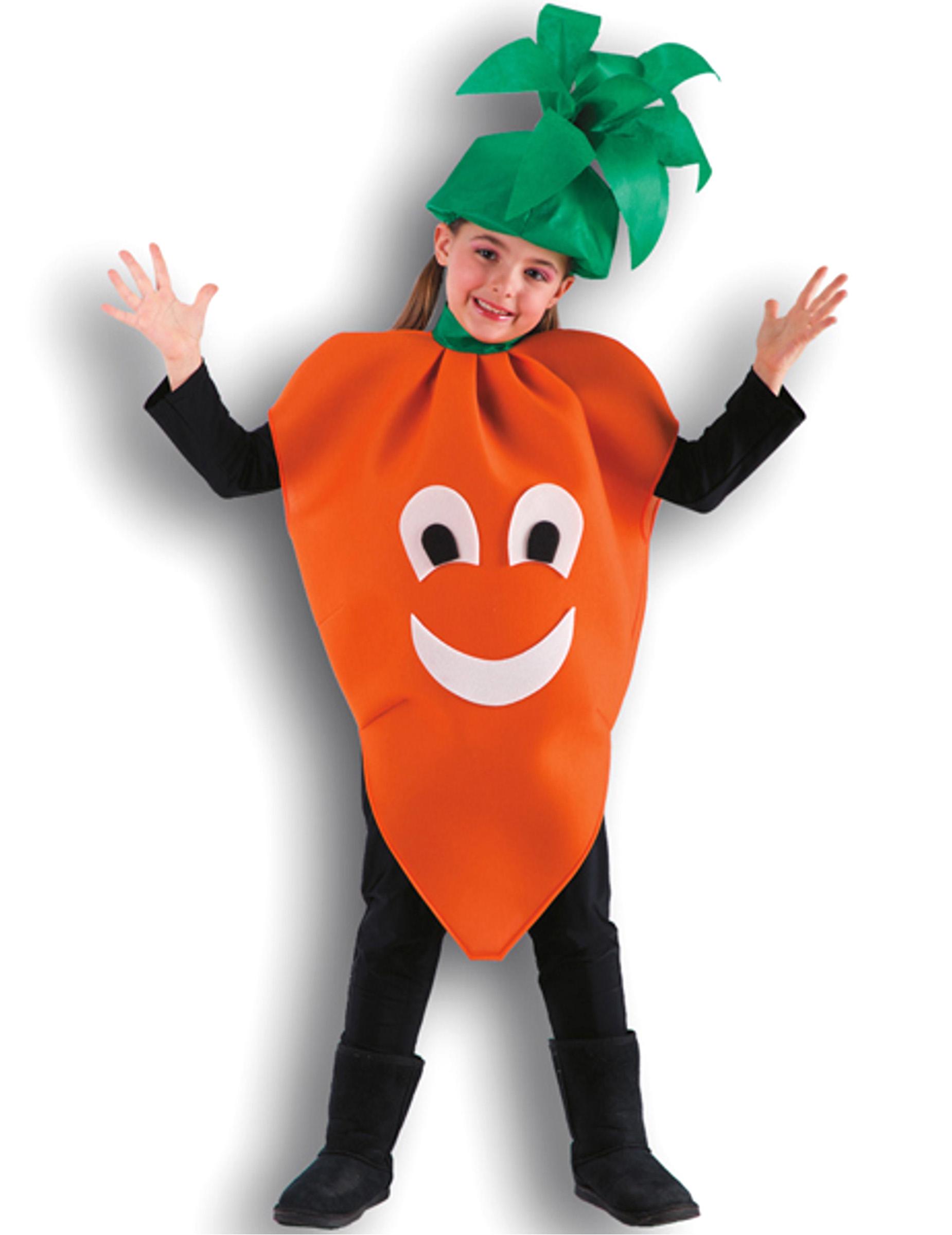 disfraces para ninos de zanahoria