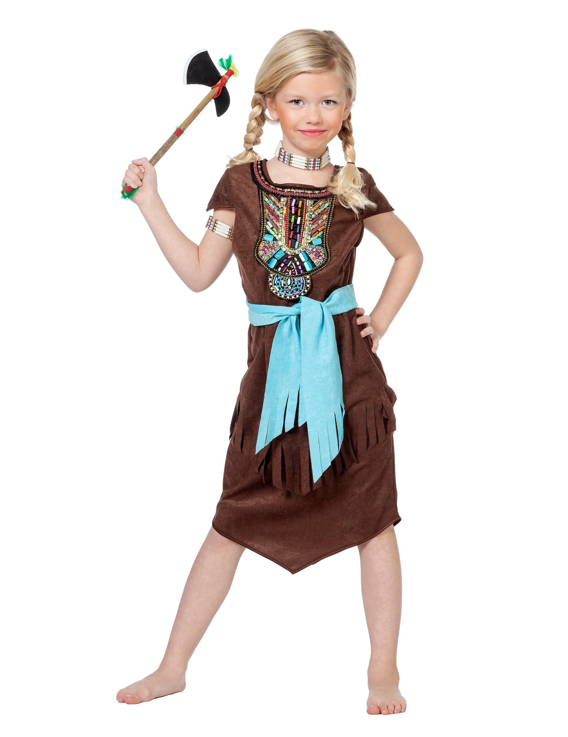 Disfraz indio peto de colores niña: Disfraces niños,y disfraces originales baratos - Vegaoo