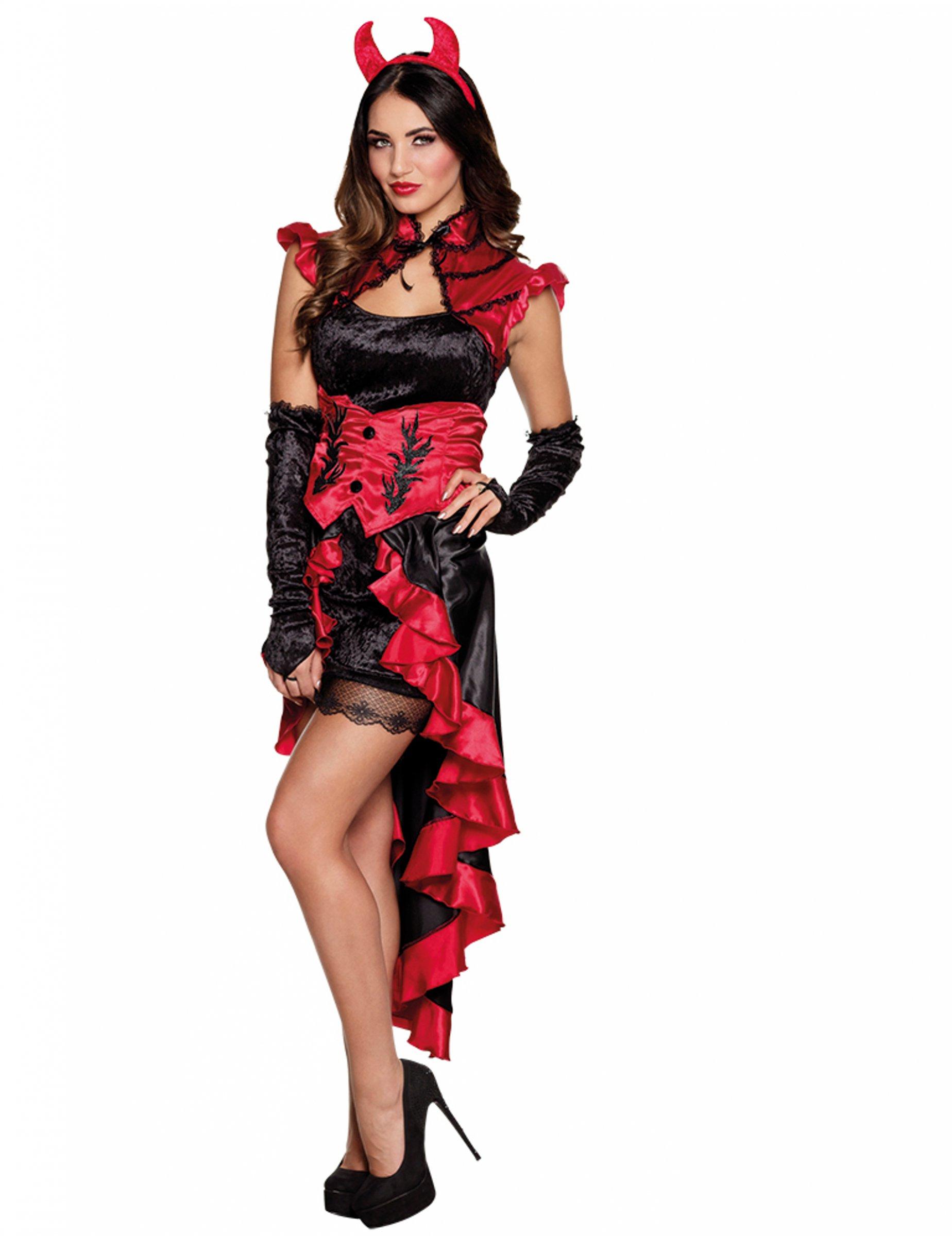 Demonio vestido de mujer