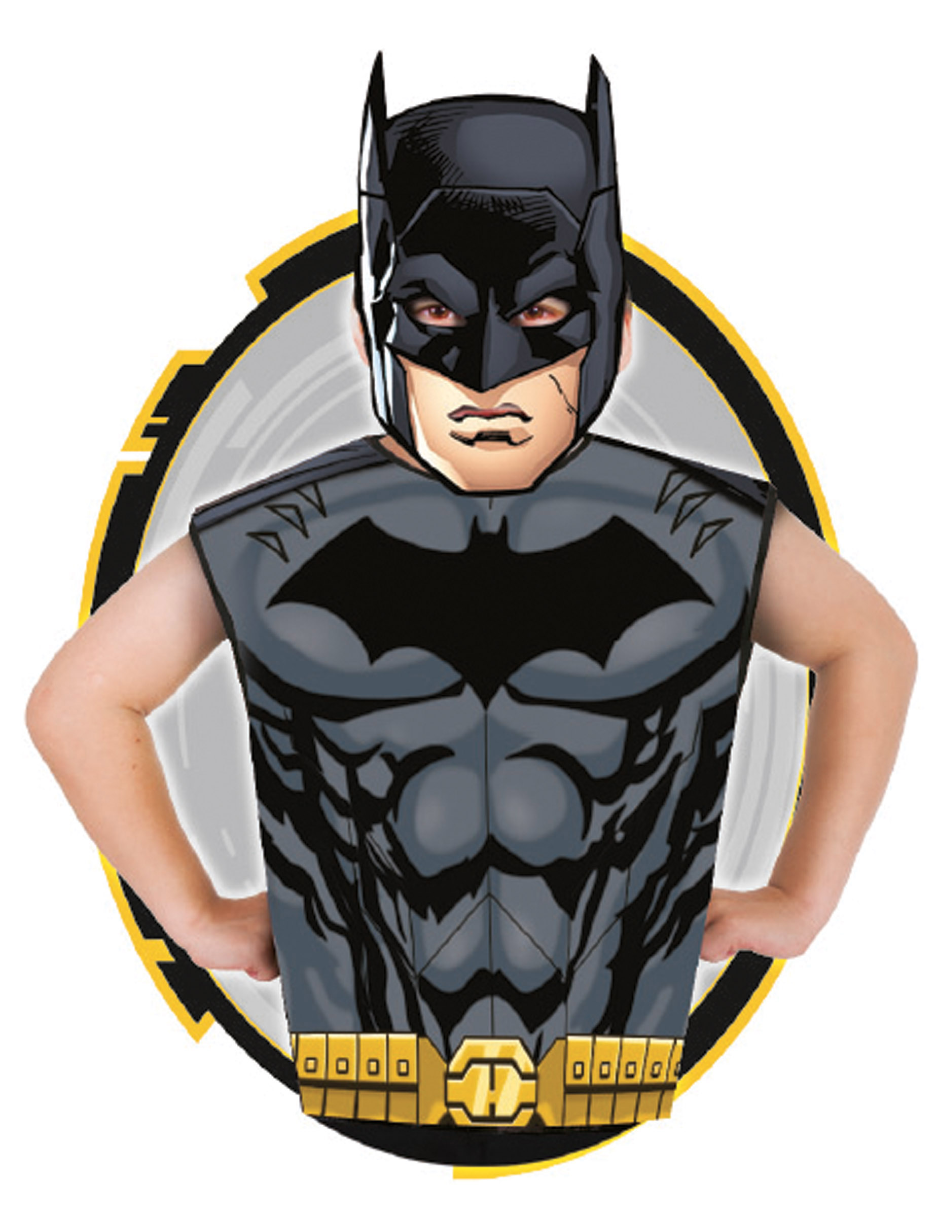 f472006ee Camiseta y máscara Batman™ niño  Disfraces niños