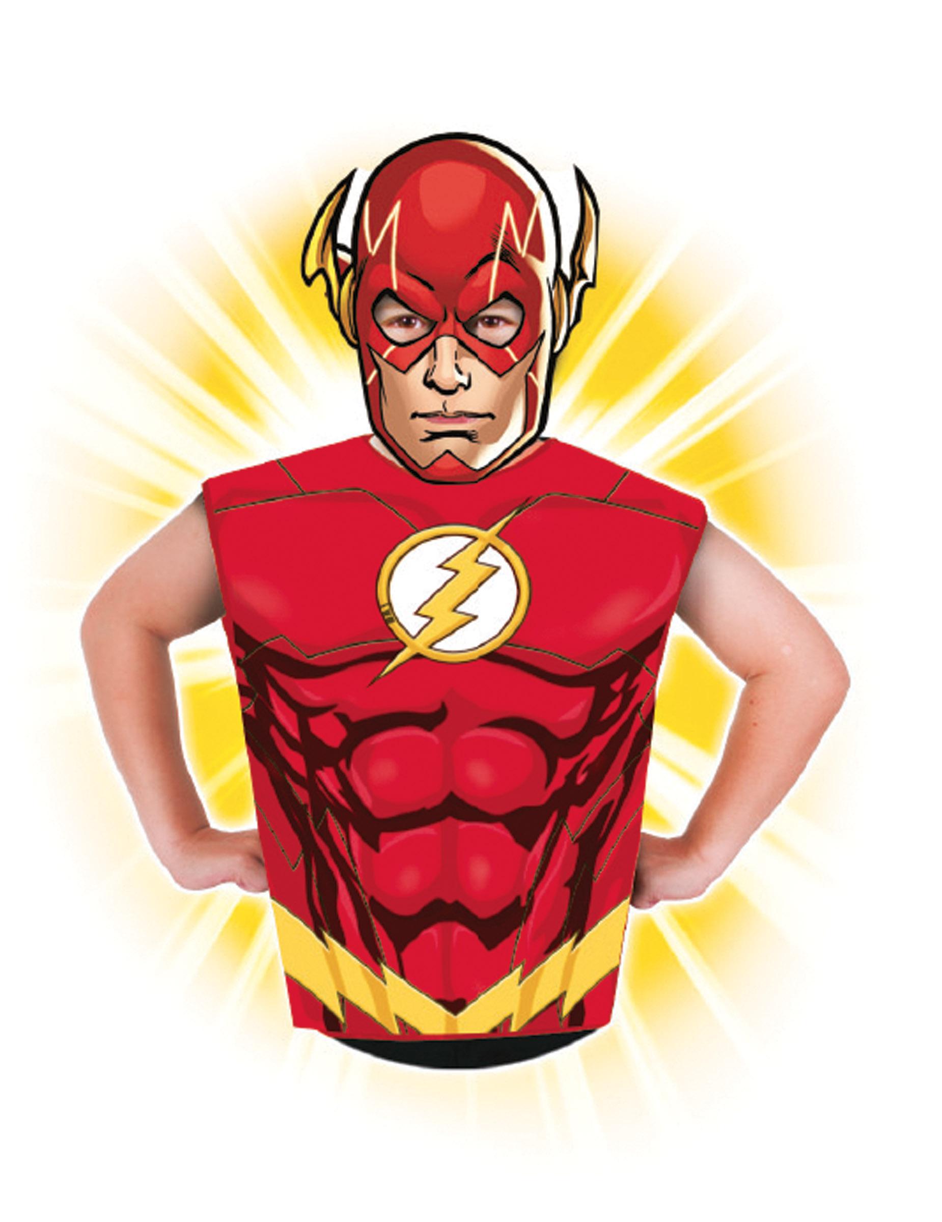 128bac443 Camiseta y máscara Flash™ niño  Disfraces niños