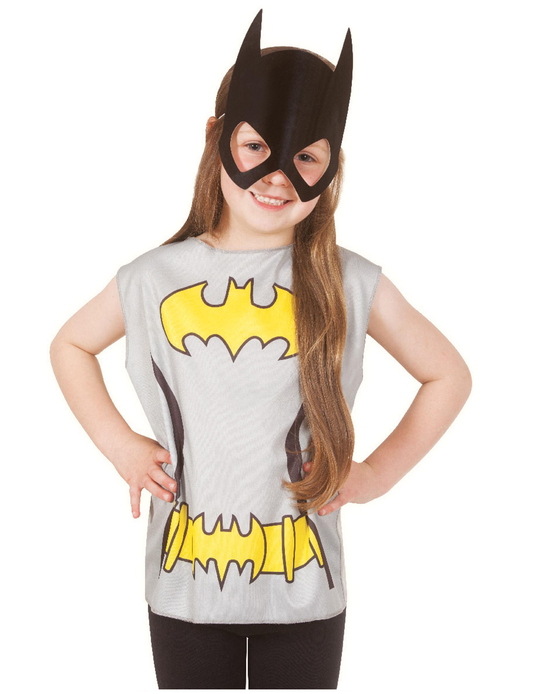 Camiseta estampado Batgirl™ niño  Disfraces niños ab8fc0dfa3fb5