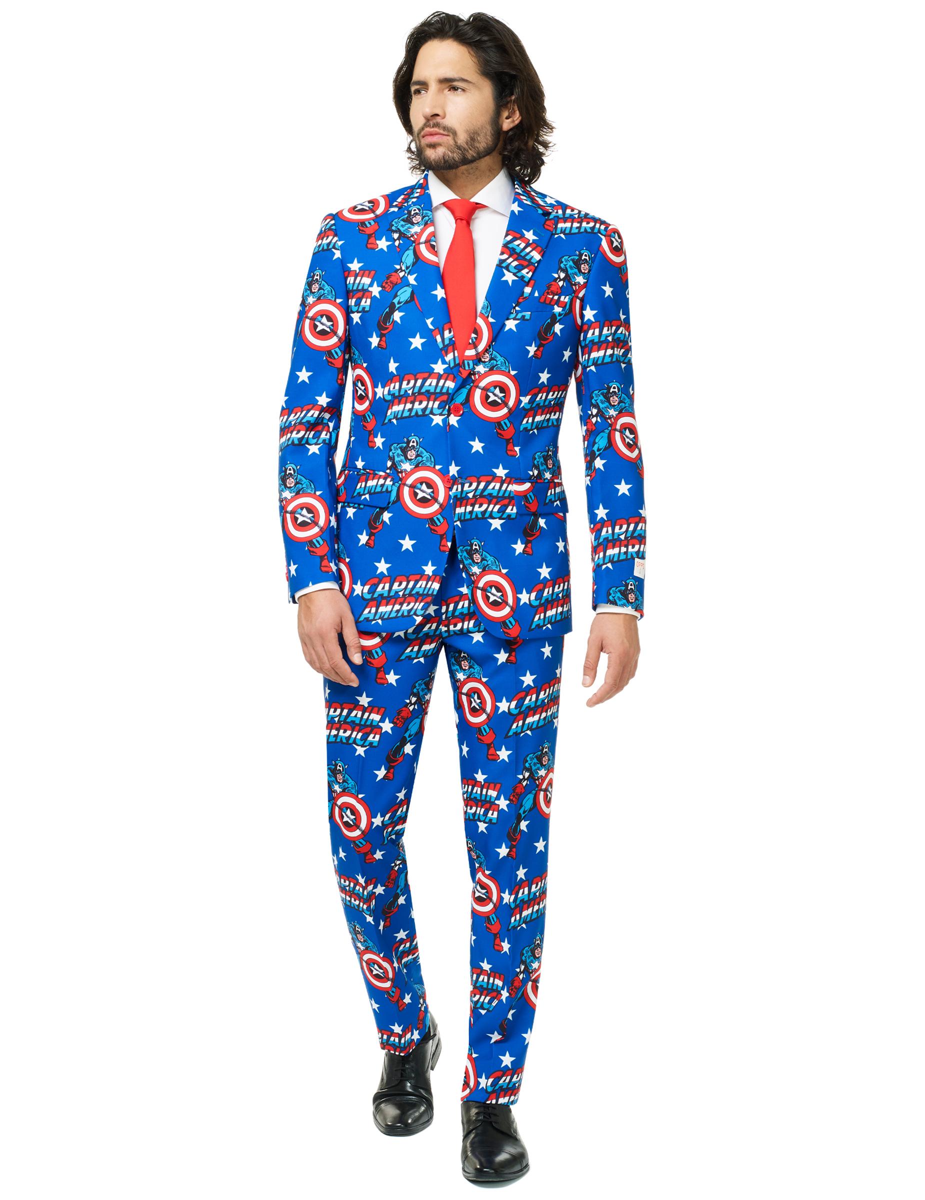 Traje Mr. Capitán América™ hombre Opposuits™  Disfraces adultos 66b9861d44b