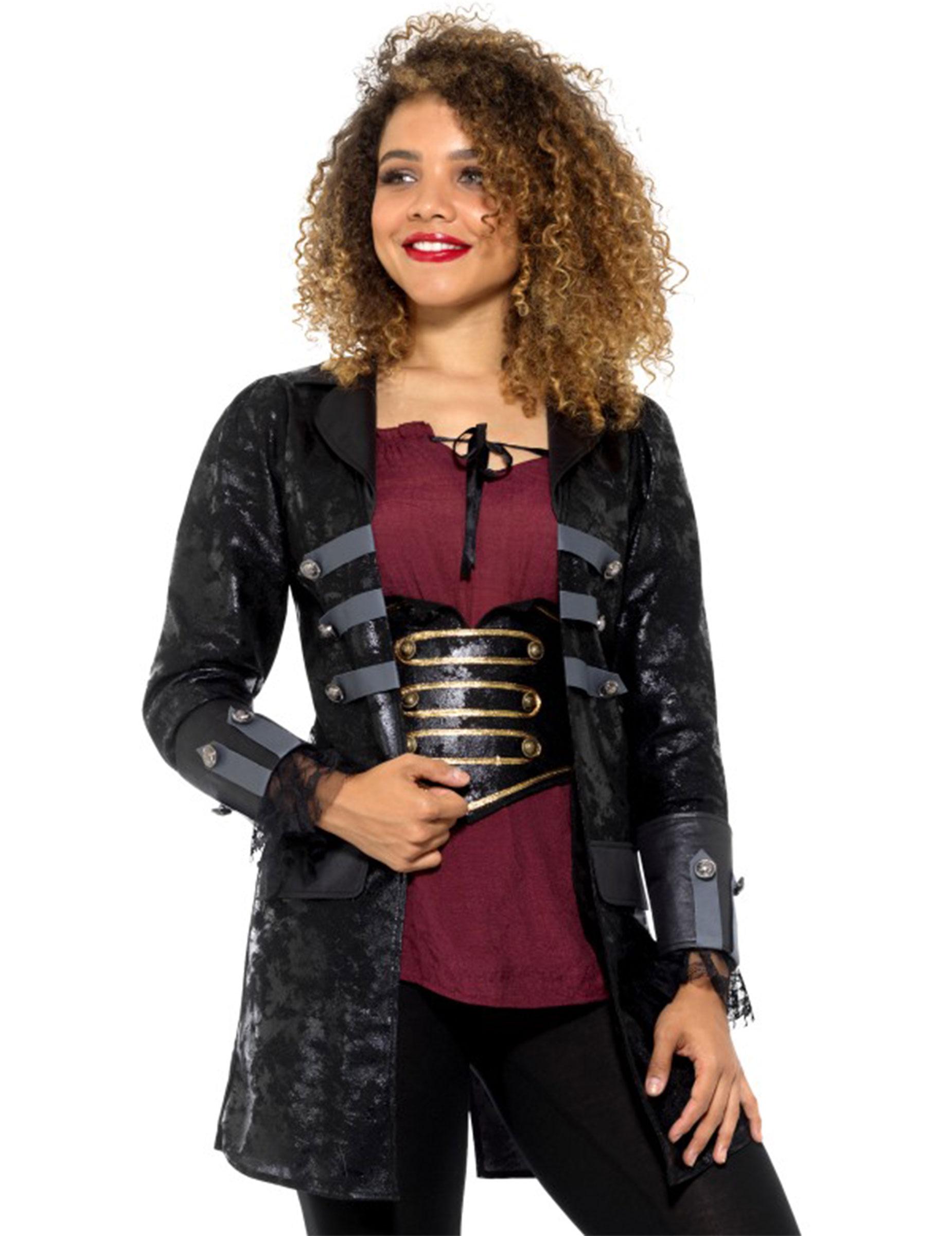 Pirata Lujo Adultos Disfraces Abrigo Mujer Originales y qOUTxUw57d