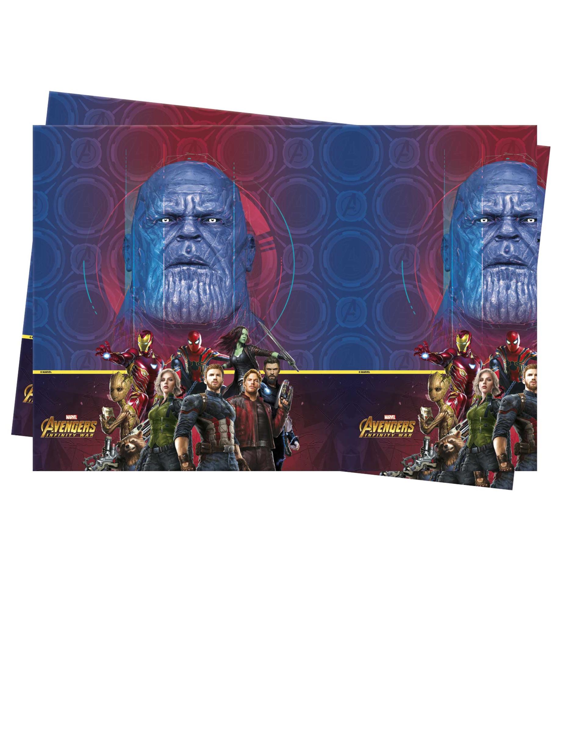 Matel De Plastico Avengers Infinity War 120 X 180 Cm Decoracion Y