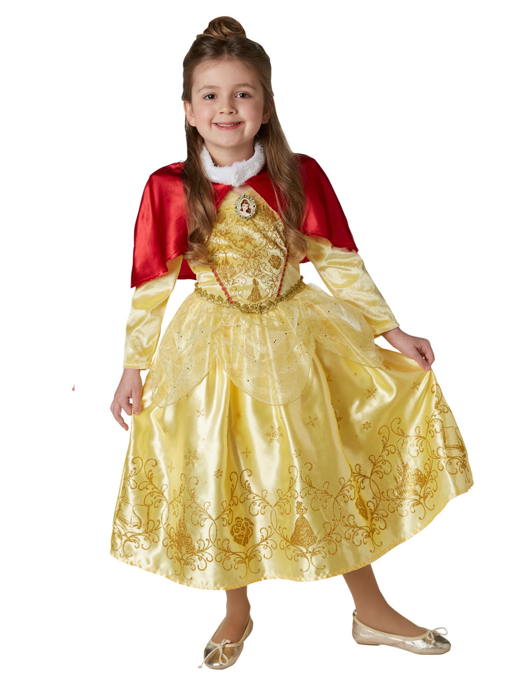 488c8222f Disfraz princesa de invierno Bella™ con capa niña  Disfraces niños