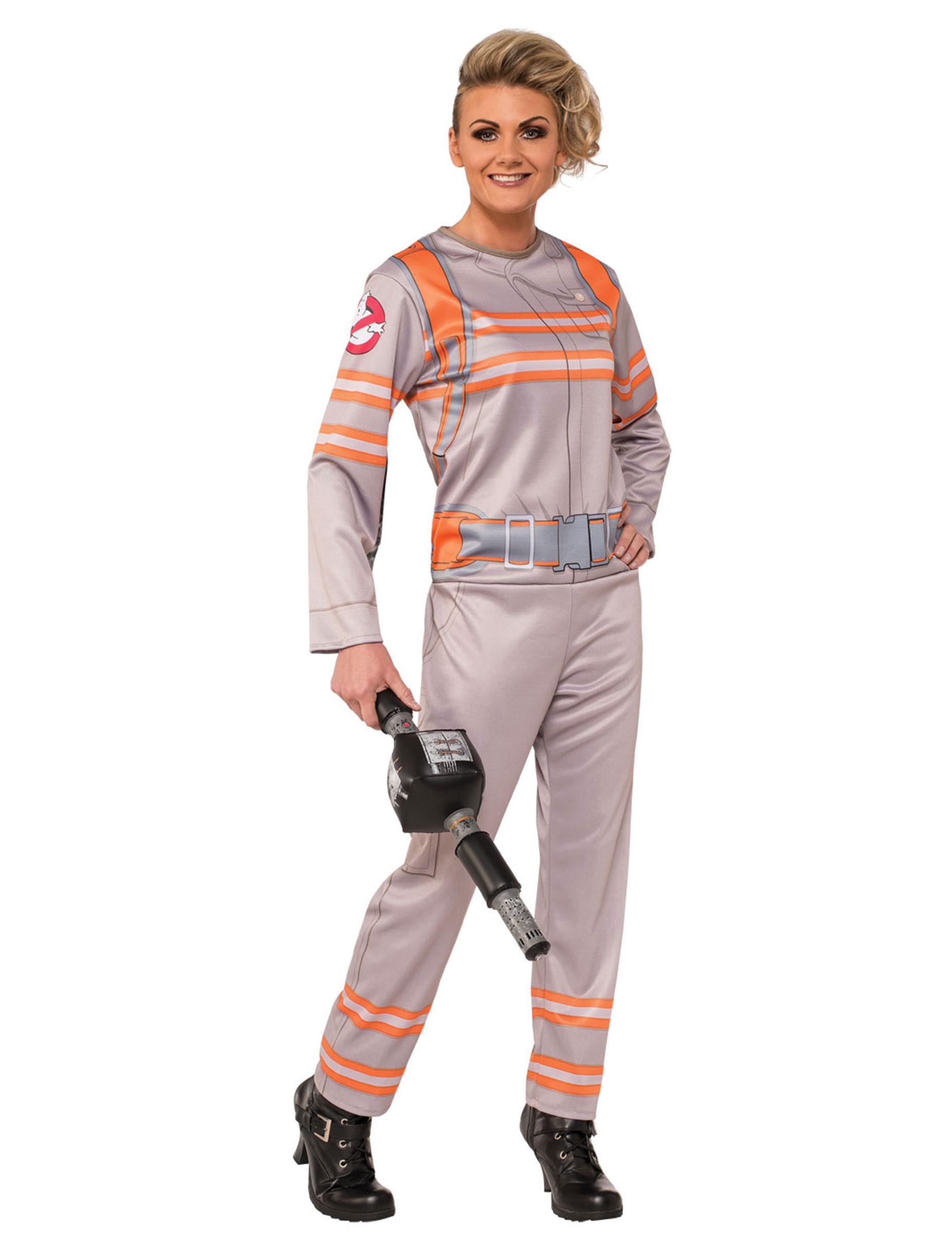 Disfraz traje Ghostbusters™ mujer  Disfraces adultos d363b39ad01fb
