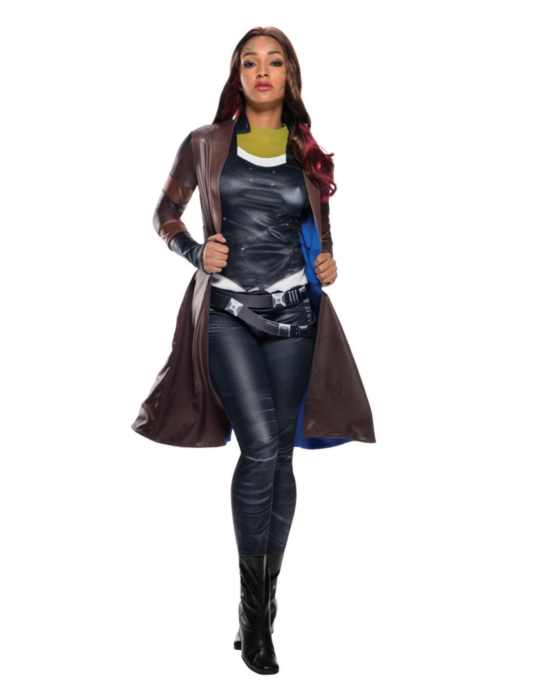 Abrigo De Lujo Gamora Los Guardianes De La Galaxia 2 Mujer