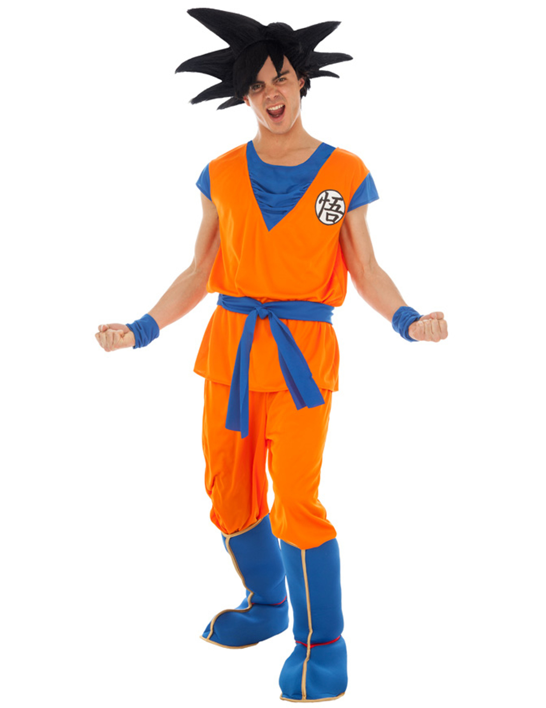 Disfraz Goku Saiyan Dragon Ball Z™ adulto  Disfraces adultos 8f504a360fa6
