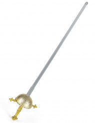 Espada de justiciero con empuñadura redonda