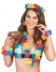 Set accesorios Hawái mujer