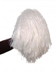 Pompón blanco de aficionado