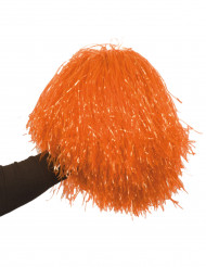 Pompón naranja de aficionado