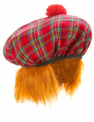 Boina escocesa para adulto