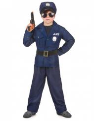 Disfraz de policía de lujo para niño